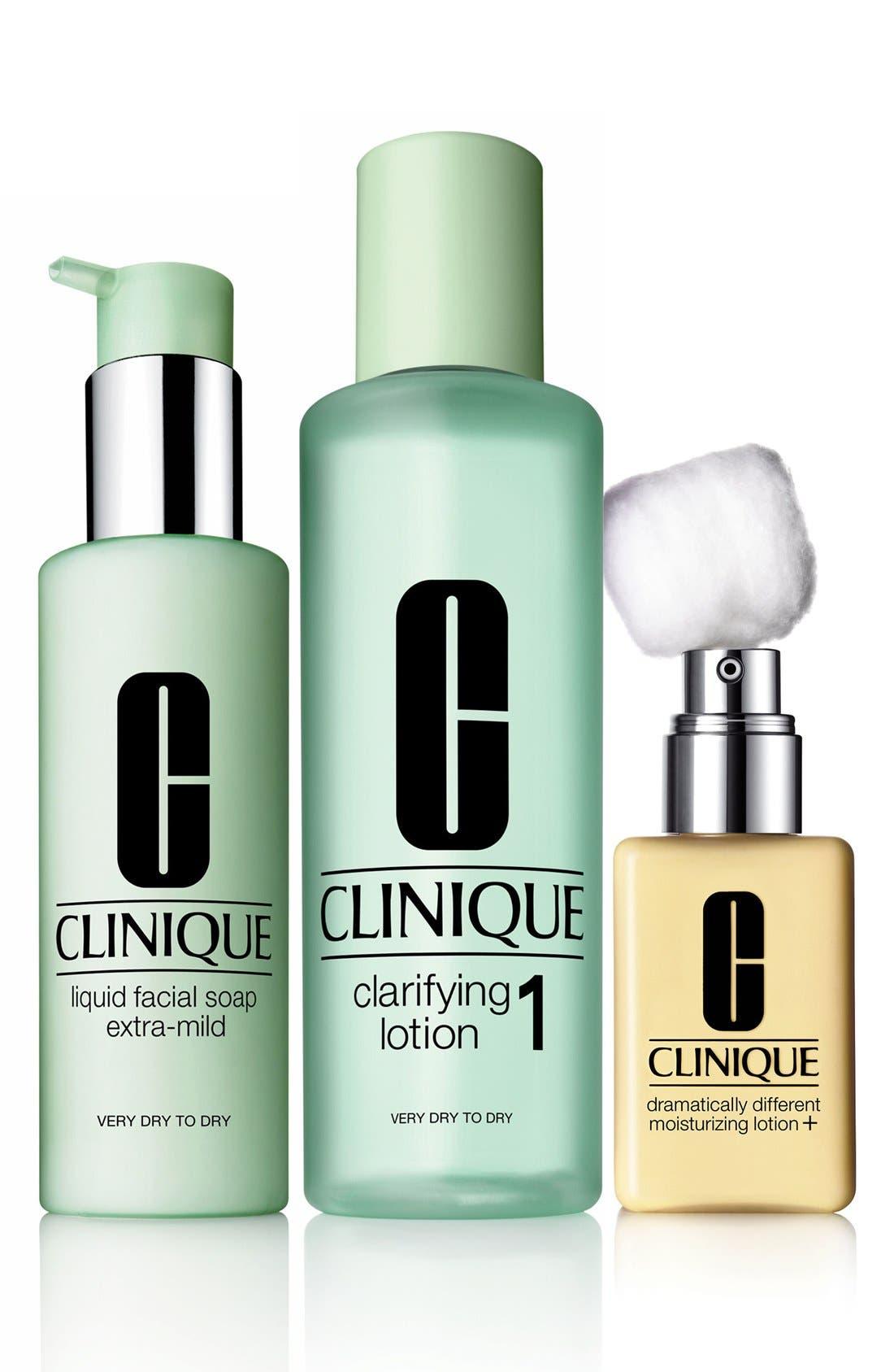 Clinique Very Dry/Dry Skin Type 1 Regimen