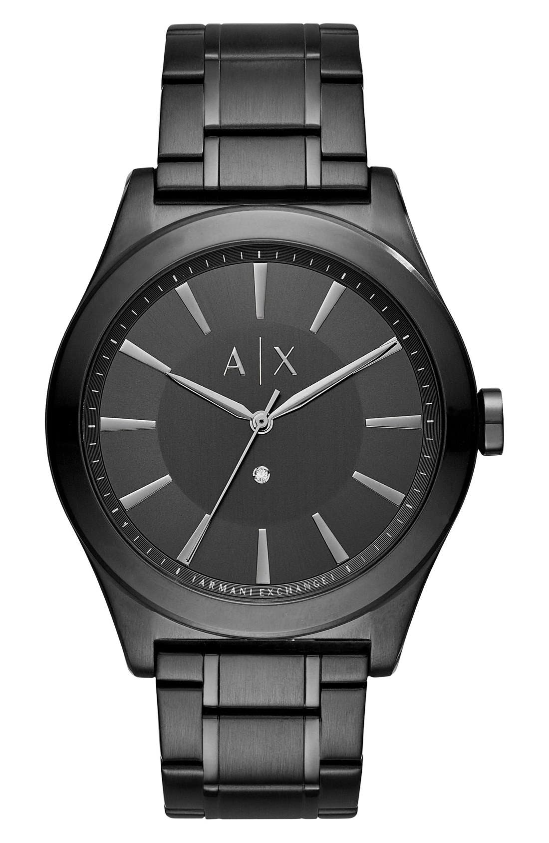 AX Armani Exchange Bracelet Watch, 44mm