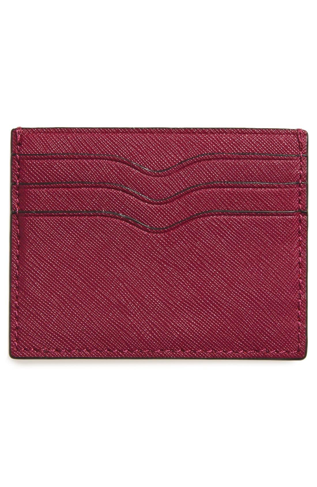 Alternate Image 2  - Rebecca Minkoff Everyday Leather Card Case
