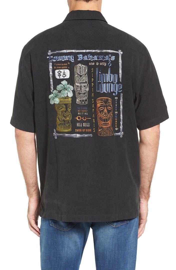 Tommy Bahama Limbo Lounge Silk Shirt Big Tall Nordstrom