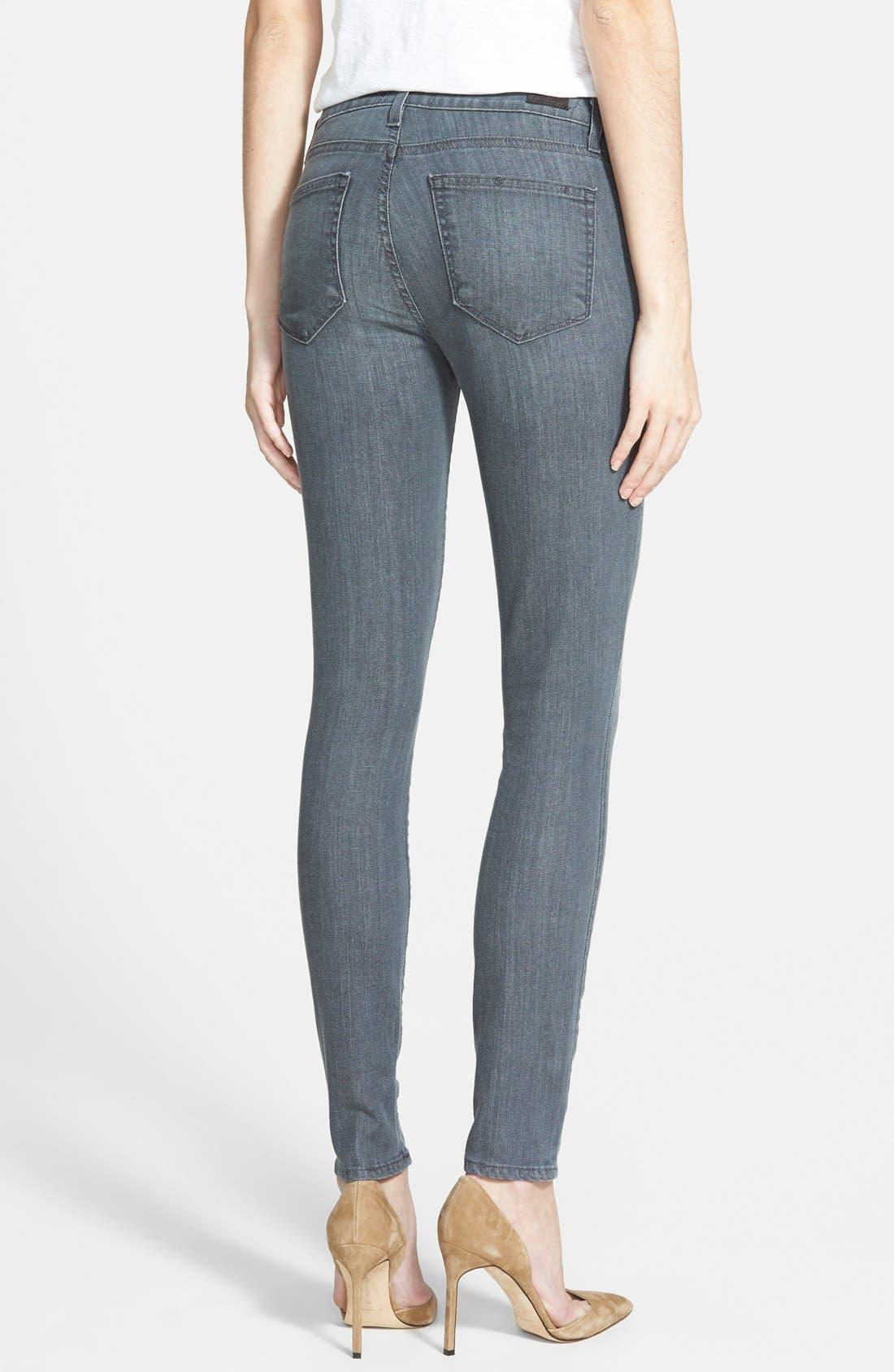 Alternate Image 2  - Paige Denim 'Verdugo' Ultra Skinny Jeans (Anderson Grey)