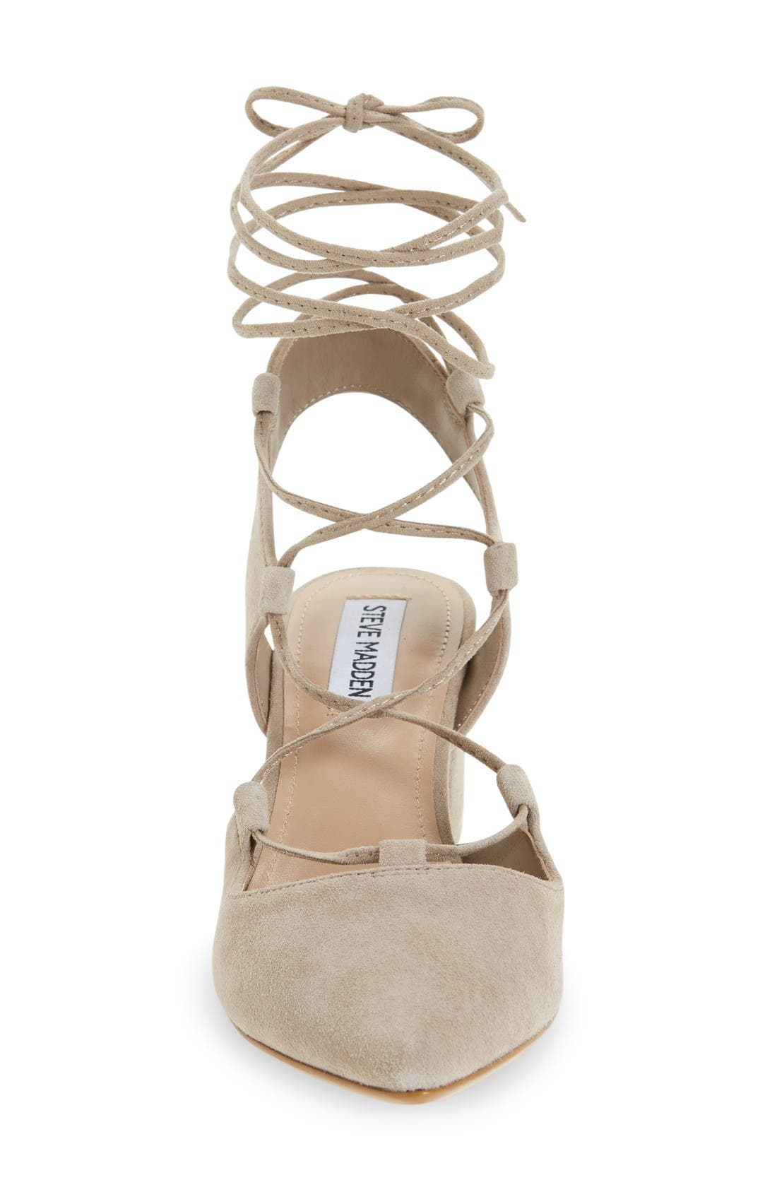 Alternate Image 3  - Steve Madden Davit Lace-Up Pump (Women)