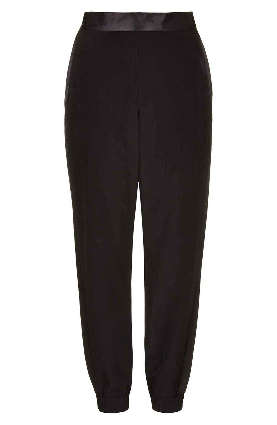 Alternate Image 3  - Topshop Stripe Jogger Pants