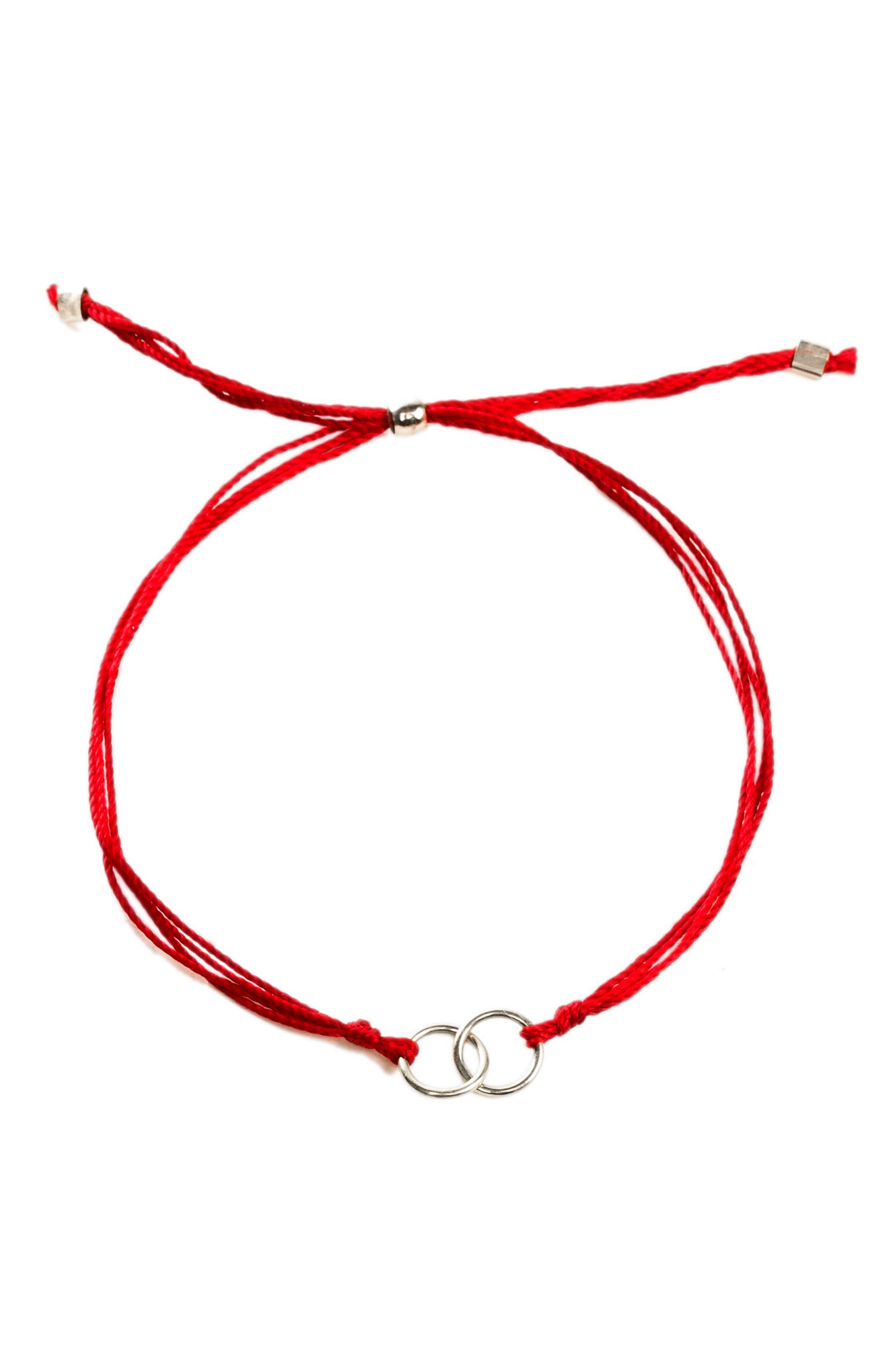 Alternate Image 2  - Dogeared Double Linked Friendship Bracelet