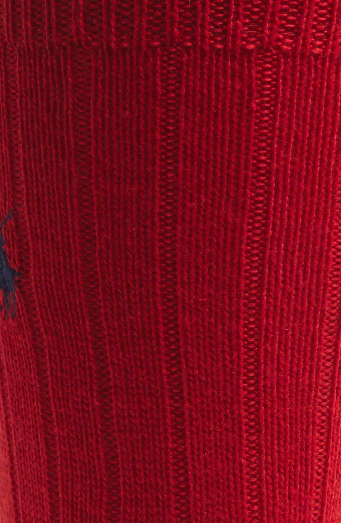 Alternate Image 2  - Polo Ralph Lauren Cashmere Blend Socks