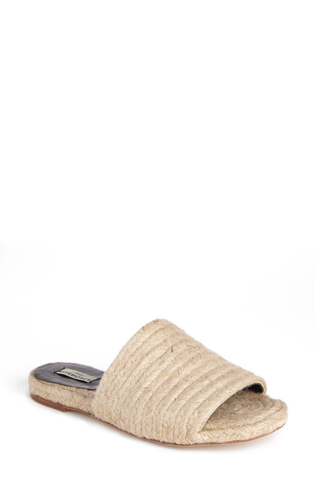 BALENCIAGA Jute Slide Sandal