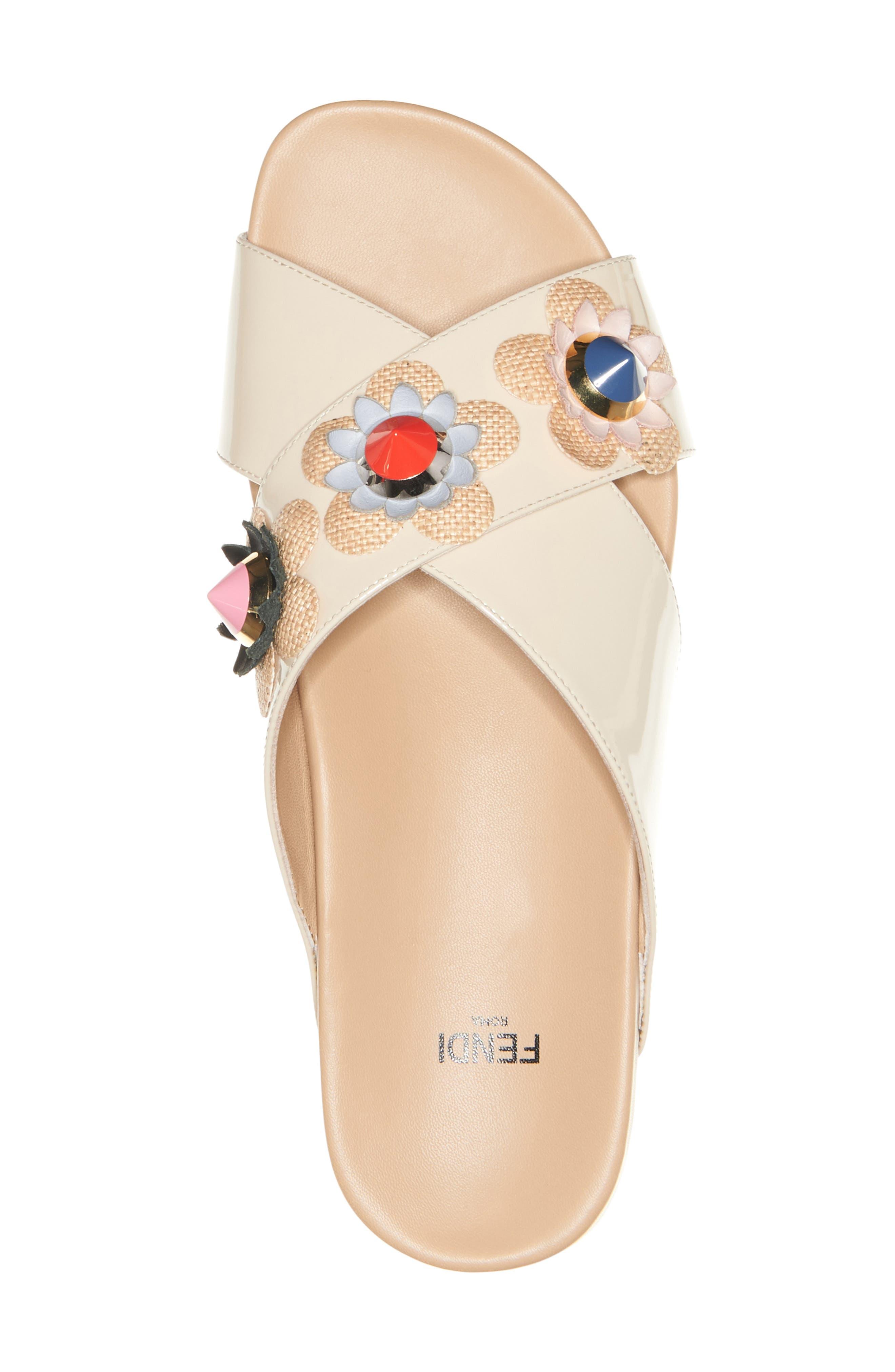 Alternate Image 3  - Fendi Flowerland Slide Sandal (Women)