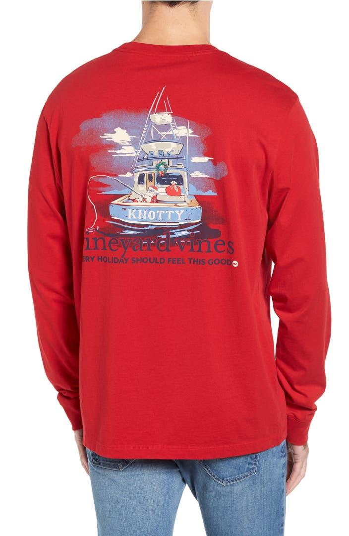 Vineyard vines santa sportsfishing pocket t shirt nordstrom for Vineyard vines fishing shirt