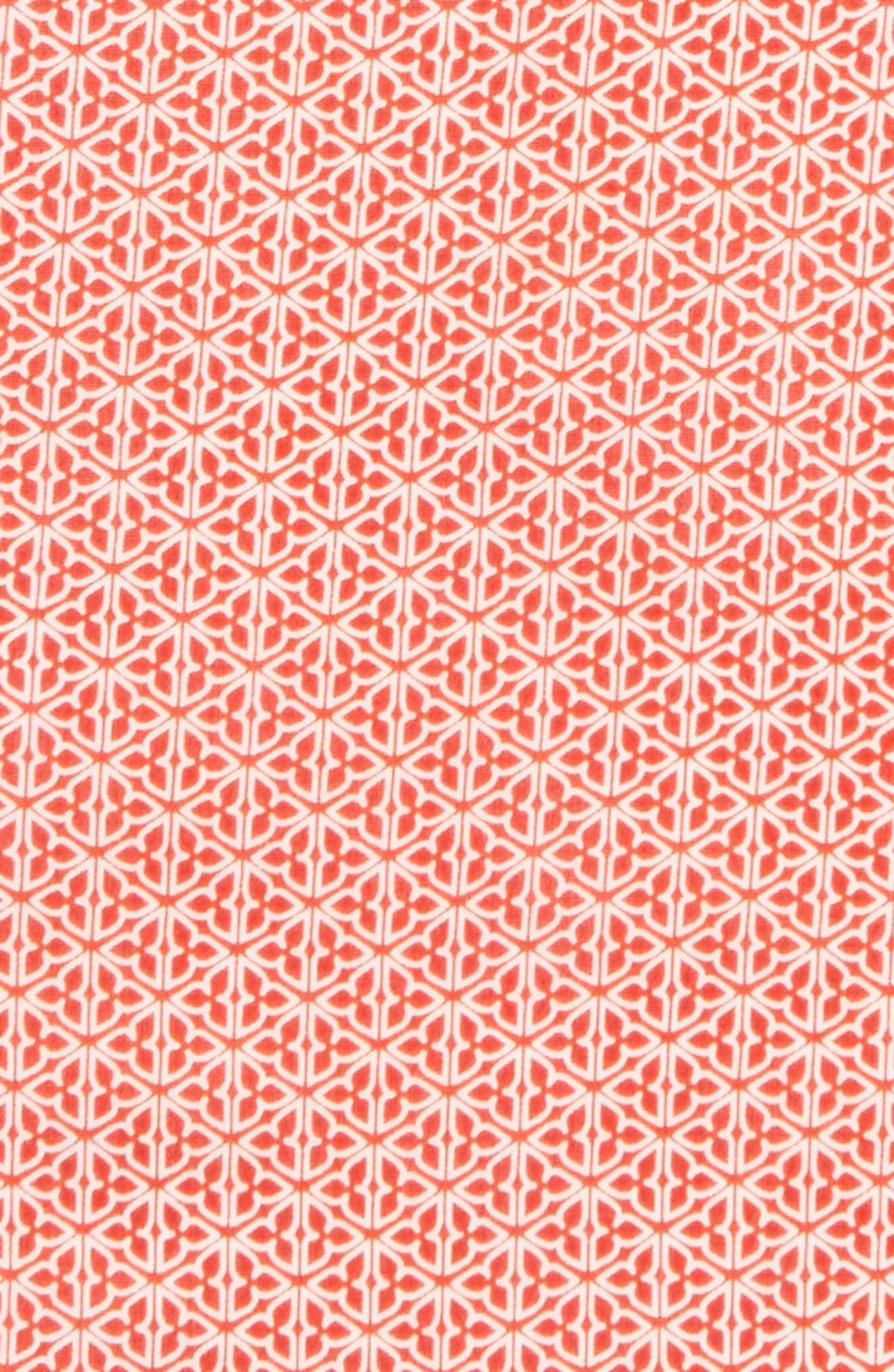 Alternate Image 3  - Calibrate Clover Cotton & Silk Pocket Square