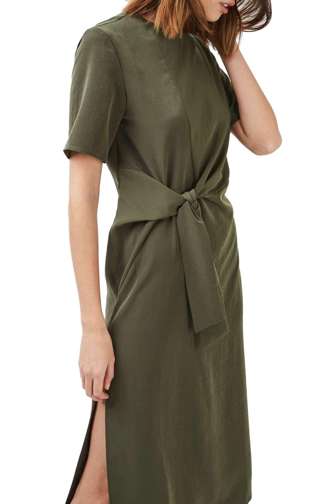 Alternate Image 3  - Topshop Front Knot Dress