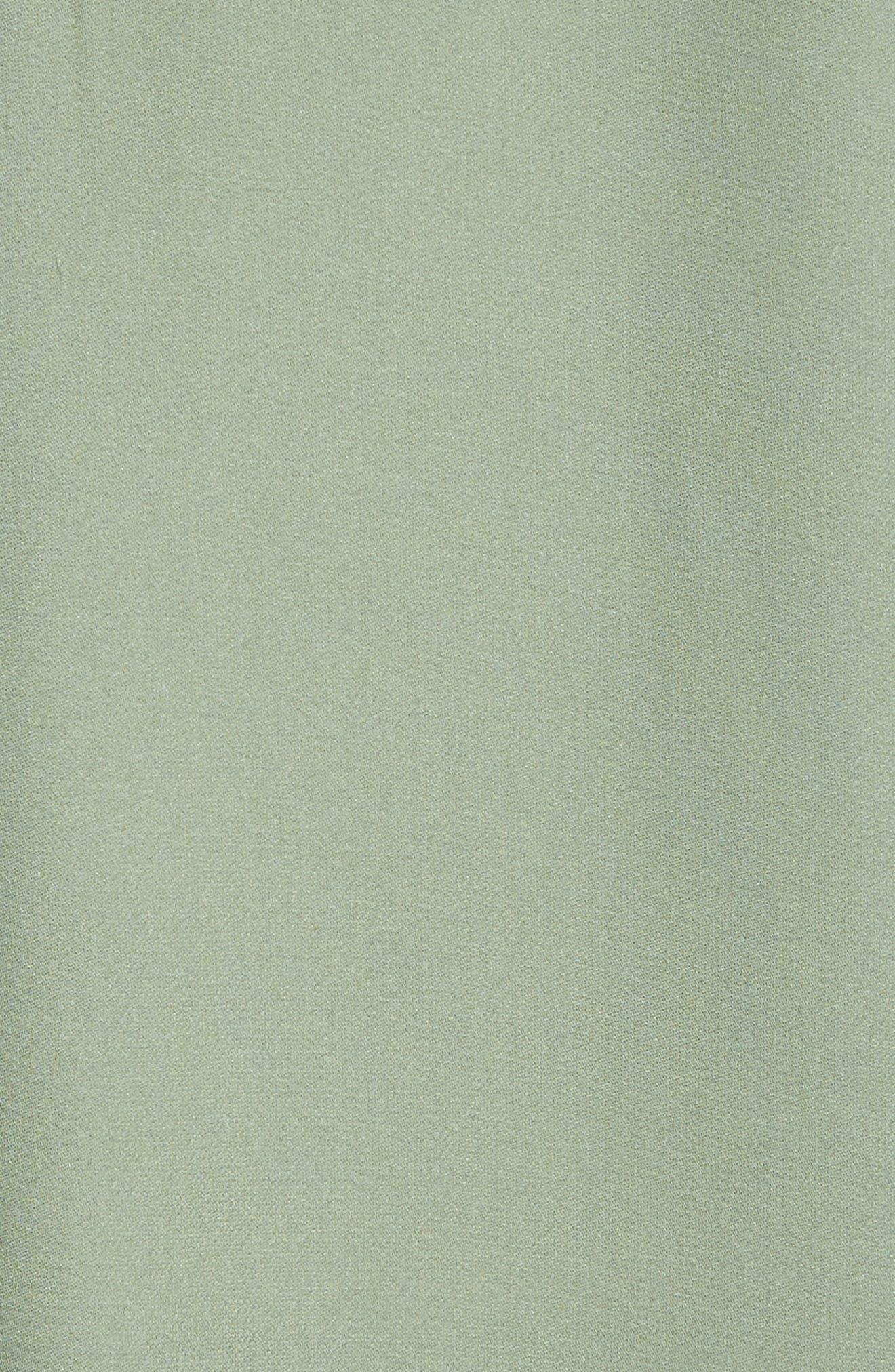 Alternate Image 5  - Vince Sheer Silk Blouse