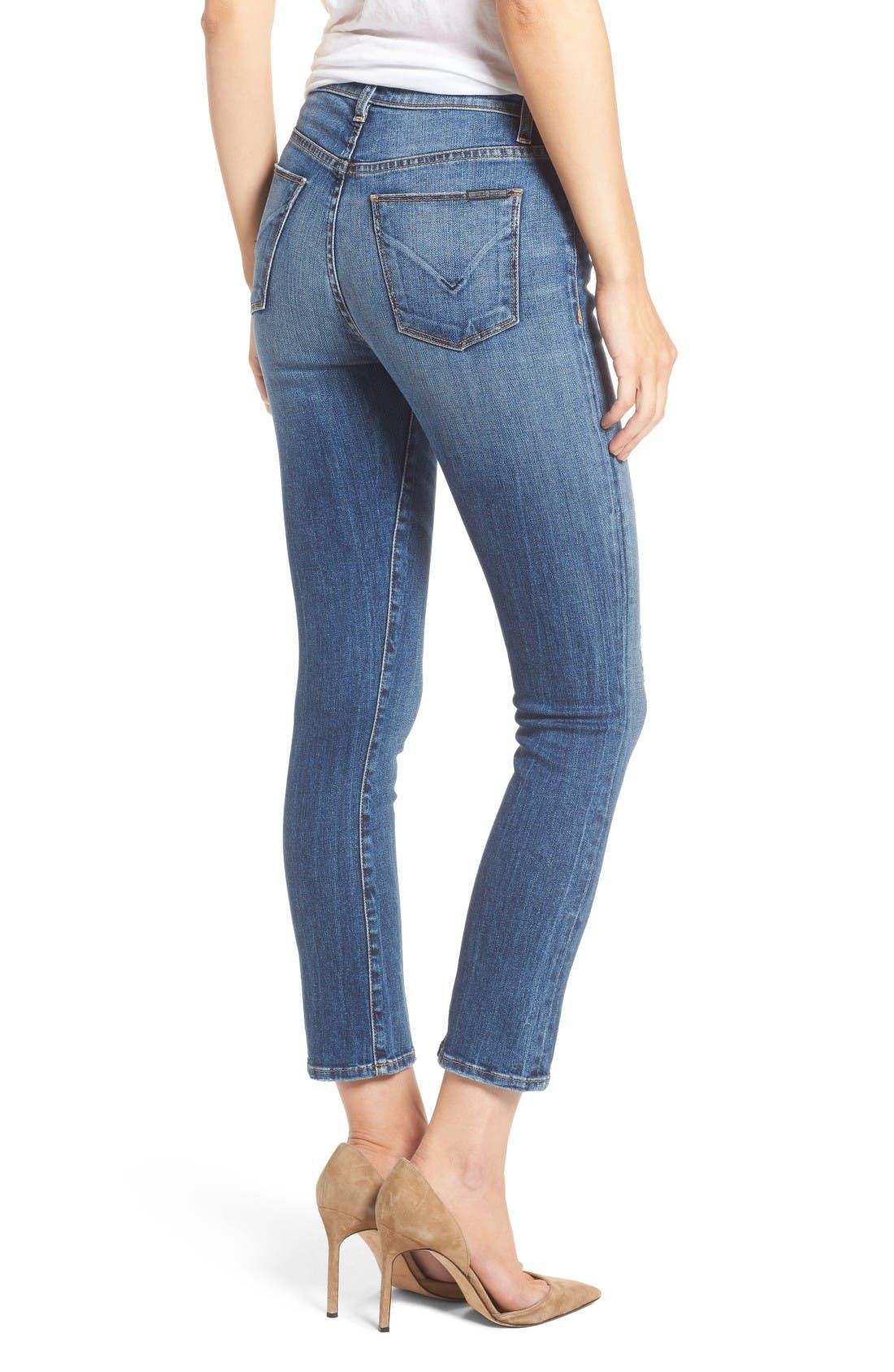 Alternate Image 2  - Hudson Jeans Harper High Waist Crop Flare Jeans (Lifeline)