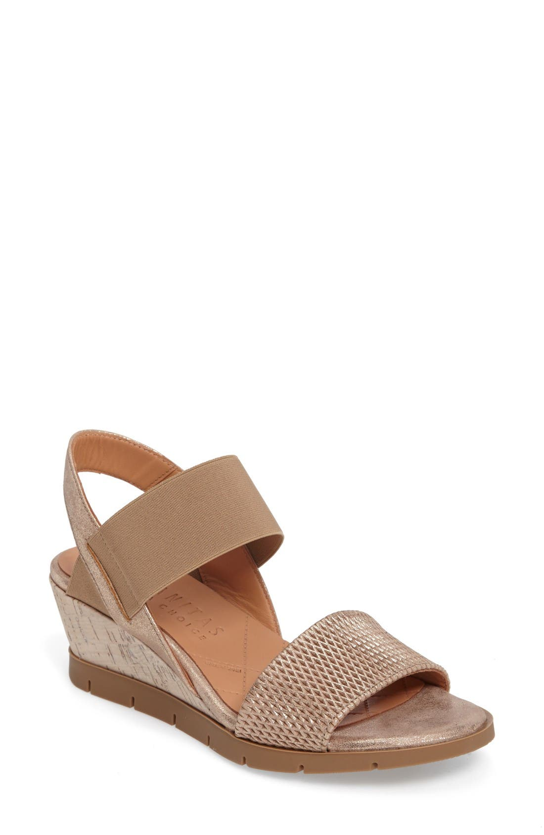 HISPANITAS Mercury Strappy Wedge Sandal