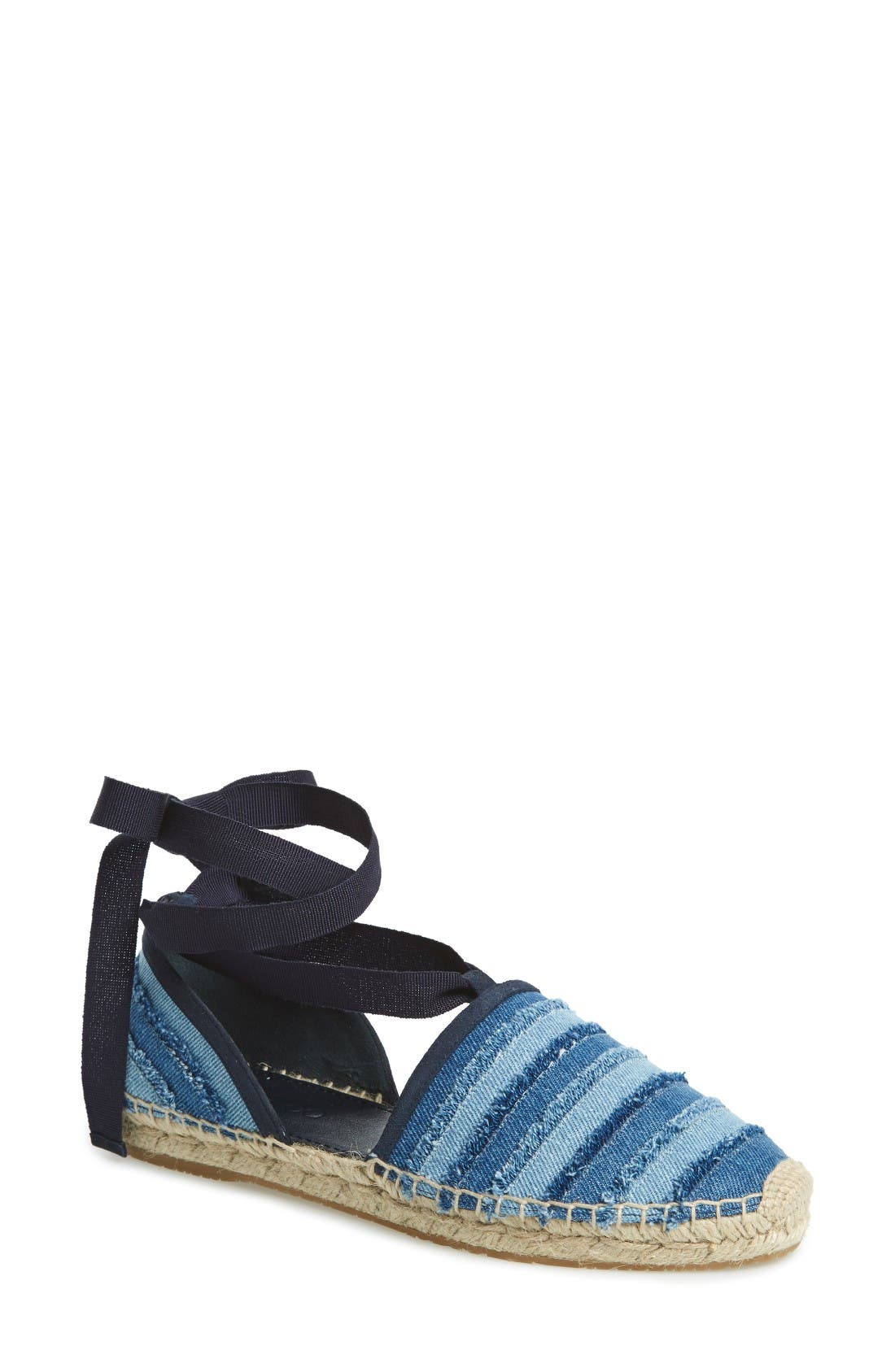 Alternate Image 1 Selected - Jimmy Choo Dolphin Espadrille Flat (Women)