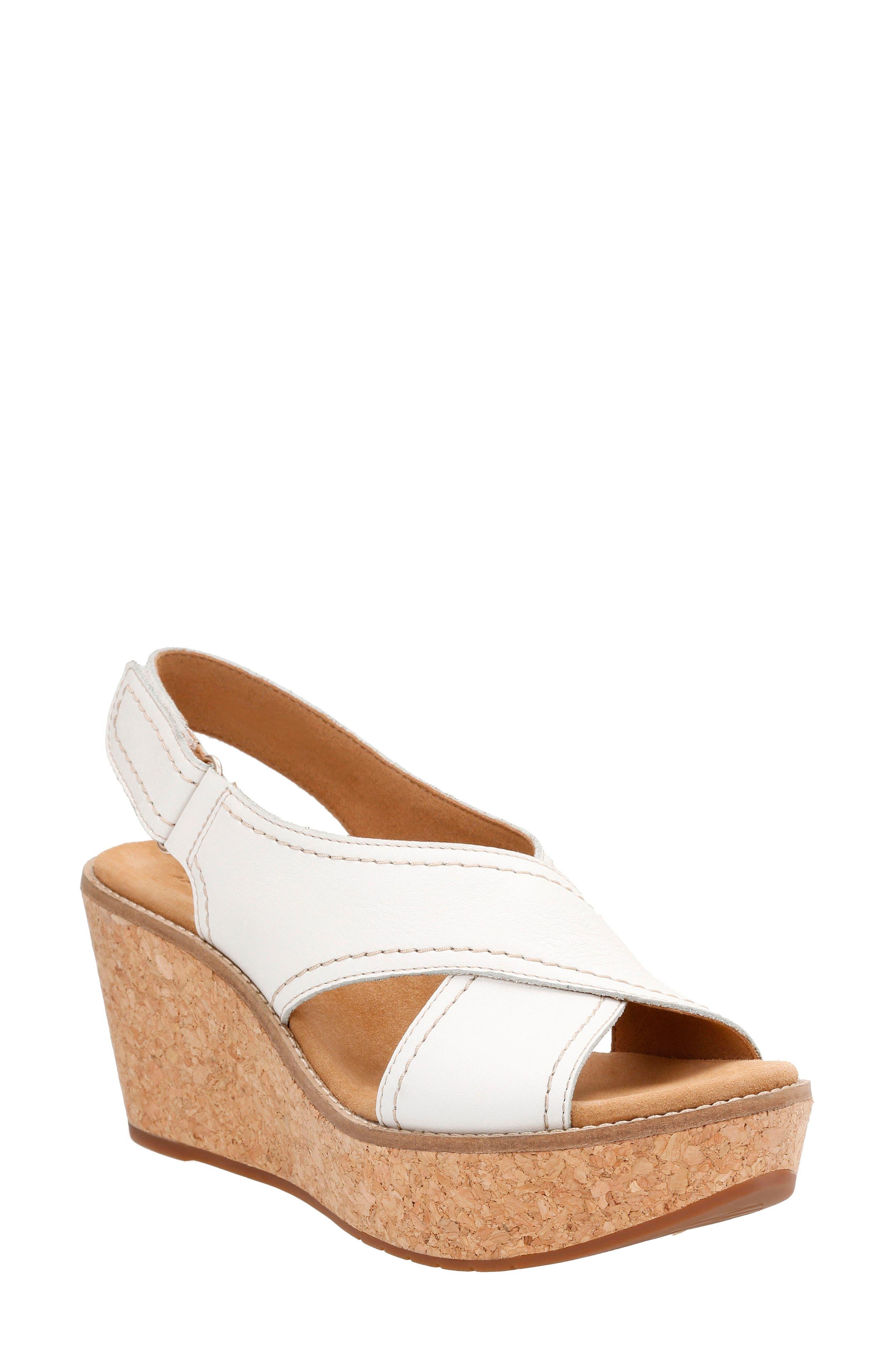 Clarks® Aisley Tulip Platform Sandal (Women)