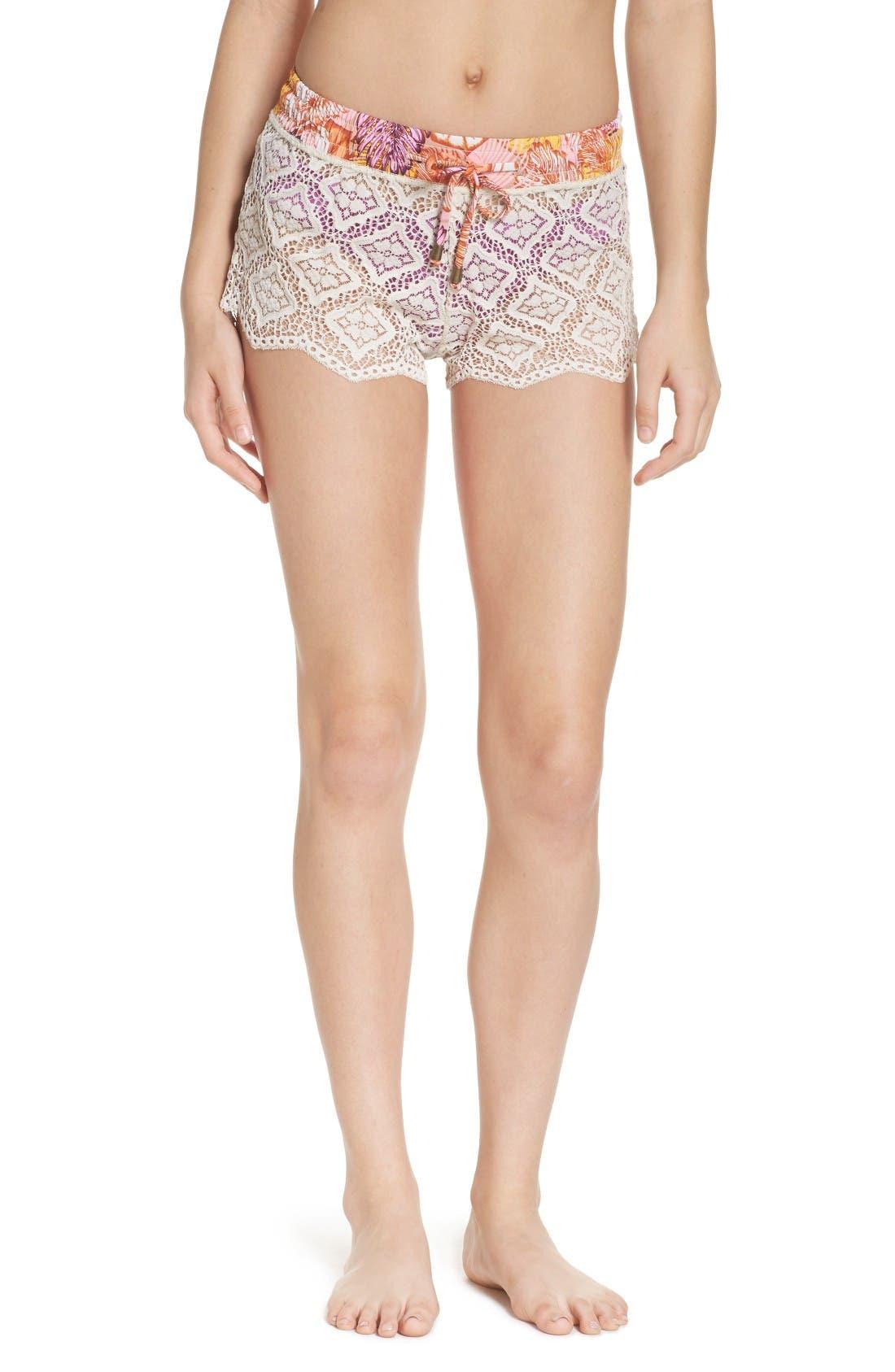 Maaji Bombon Apricot Cover-Up Shorts