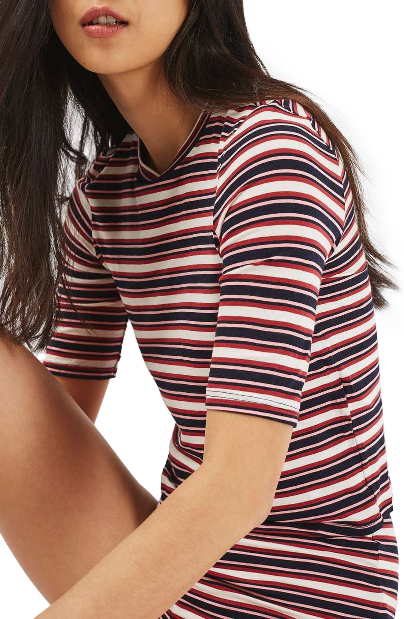 Alternate Image 5  - Topshop Harriet Stripe Pajamas