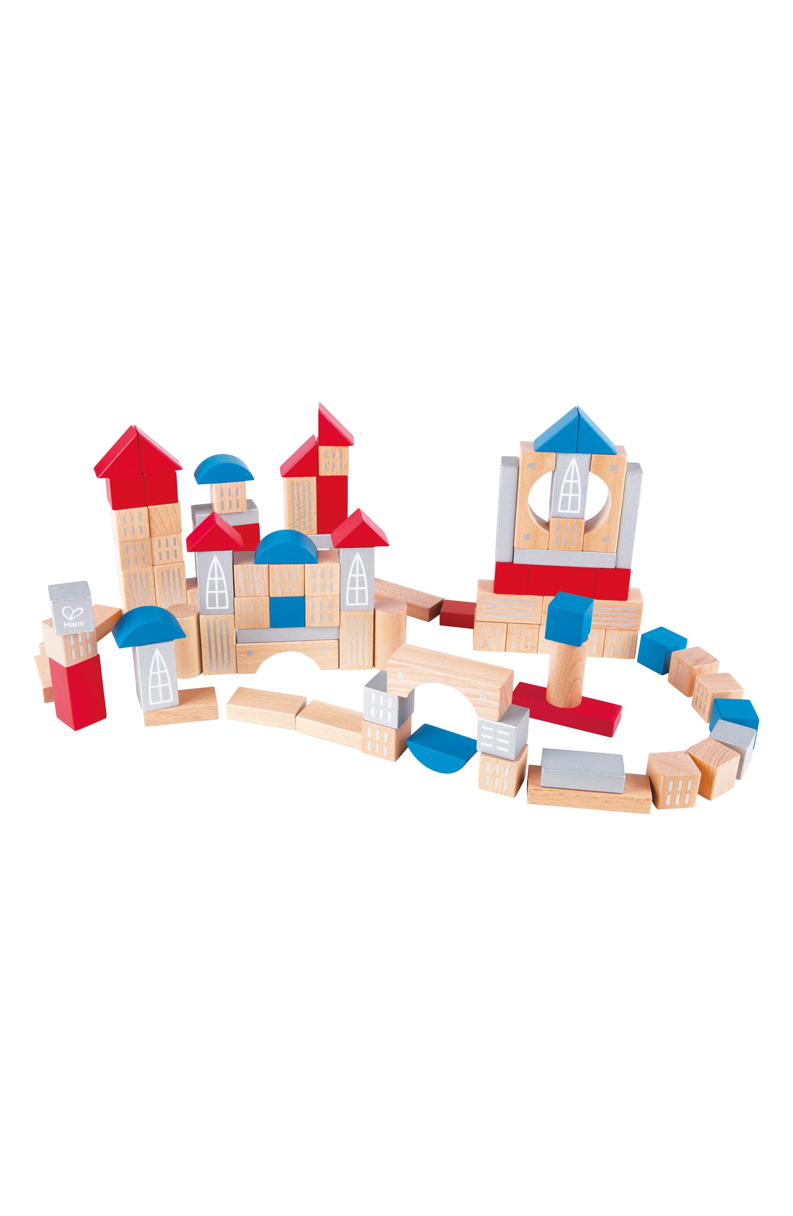 Hape Metropolitan Wooden Blocks Set