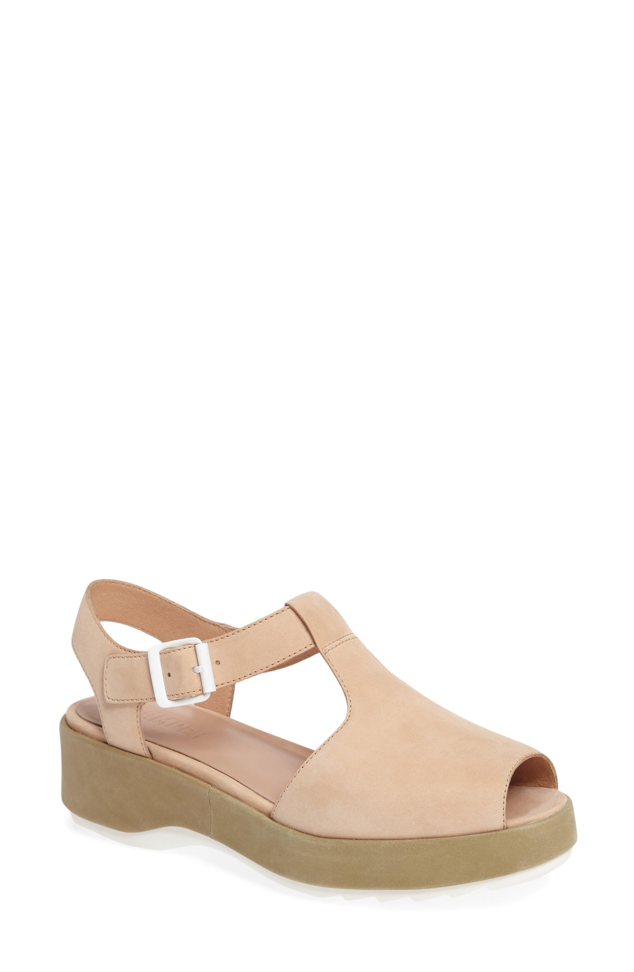 CAMPER 'Dessa' Platform Sandal
