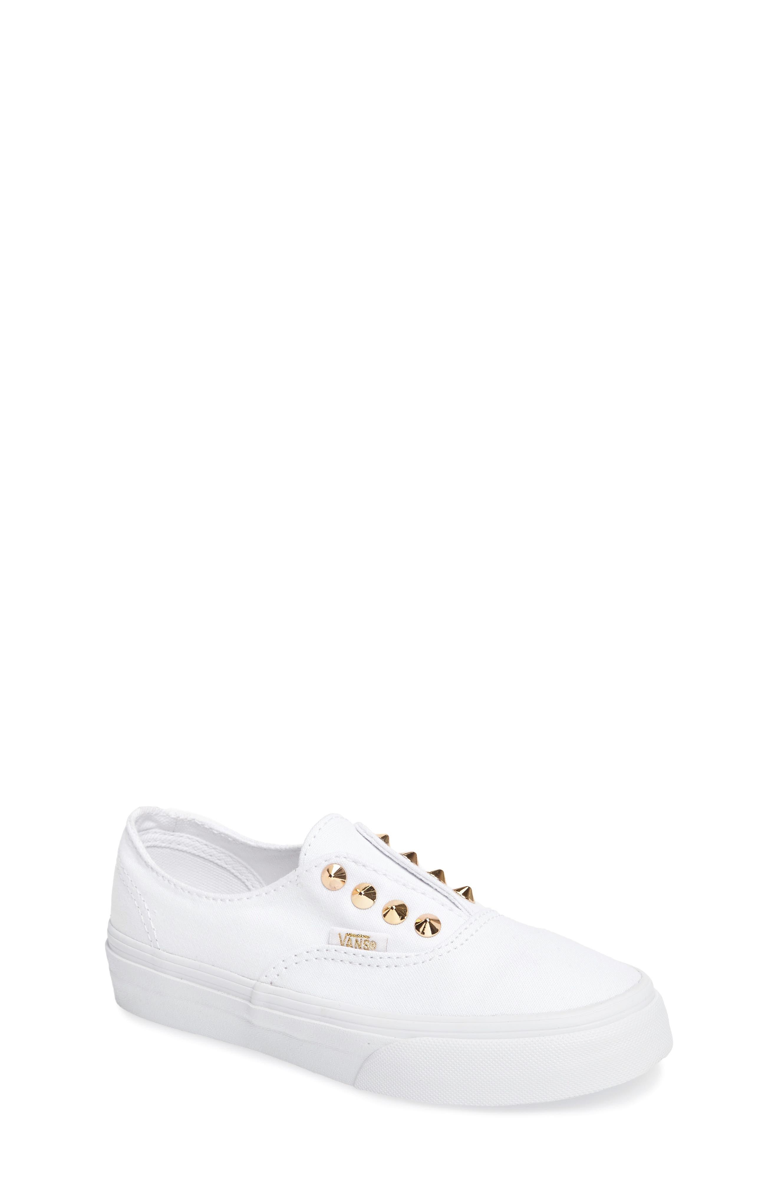 Vans Authentic Studded Slip-On Sneaker (Toddler, Little Kid & Big Kid)