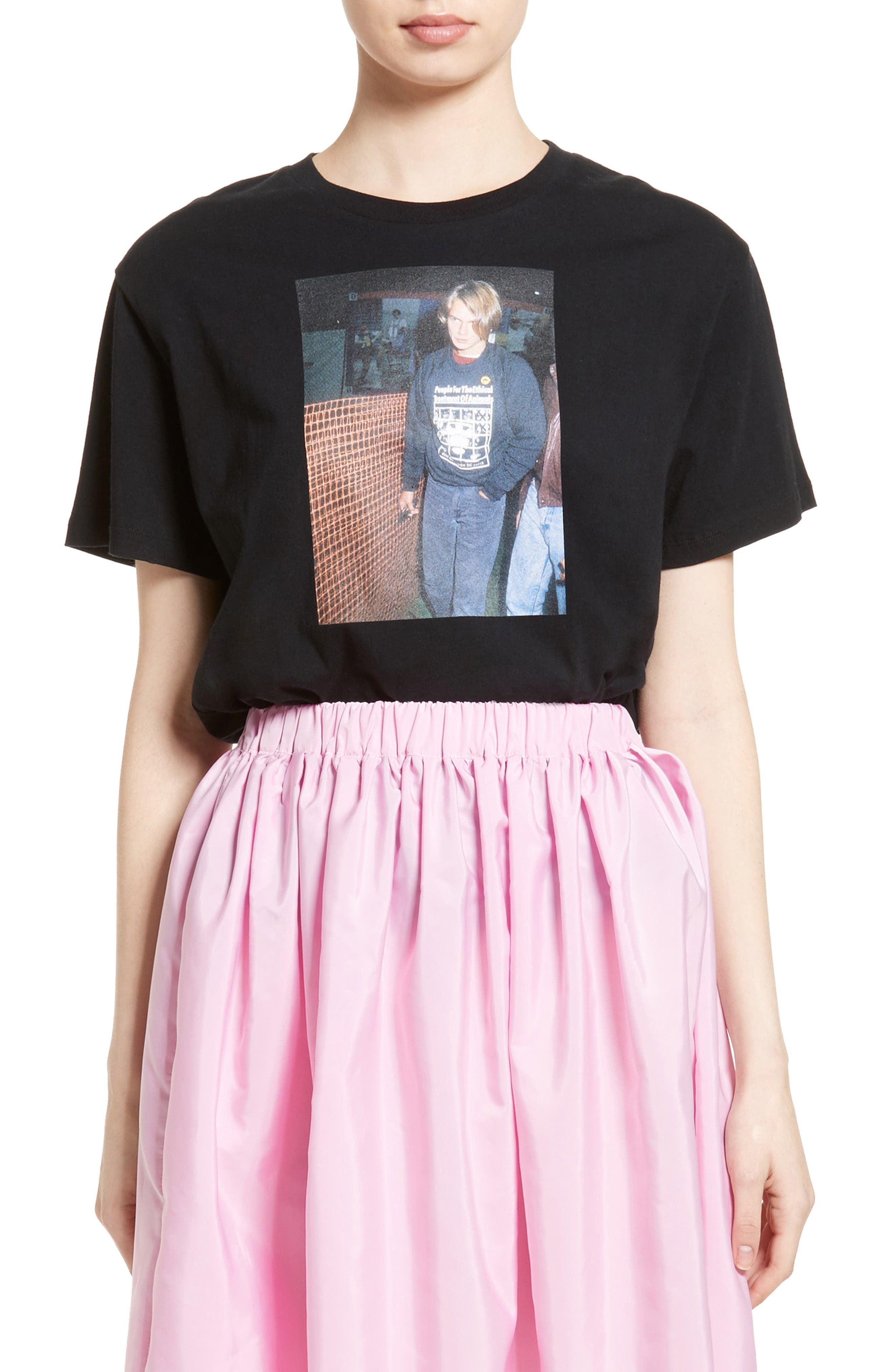 ASHLEY WILLIAMS River Graphic Tee