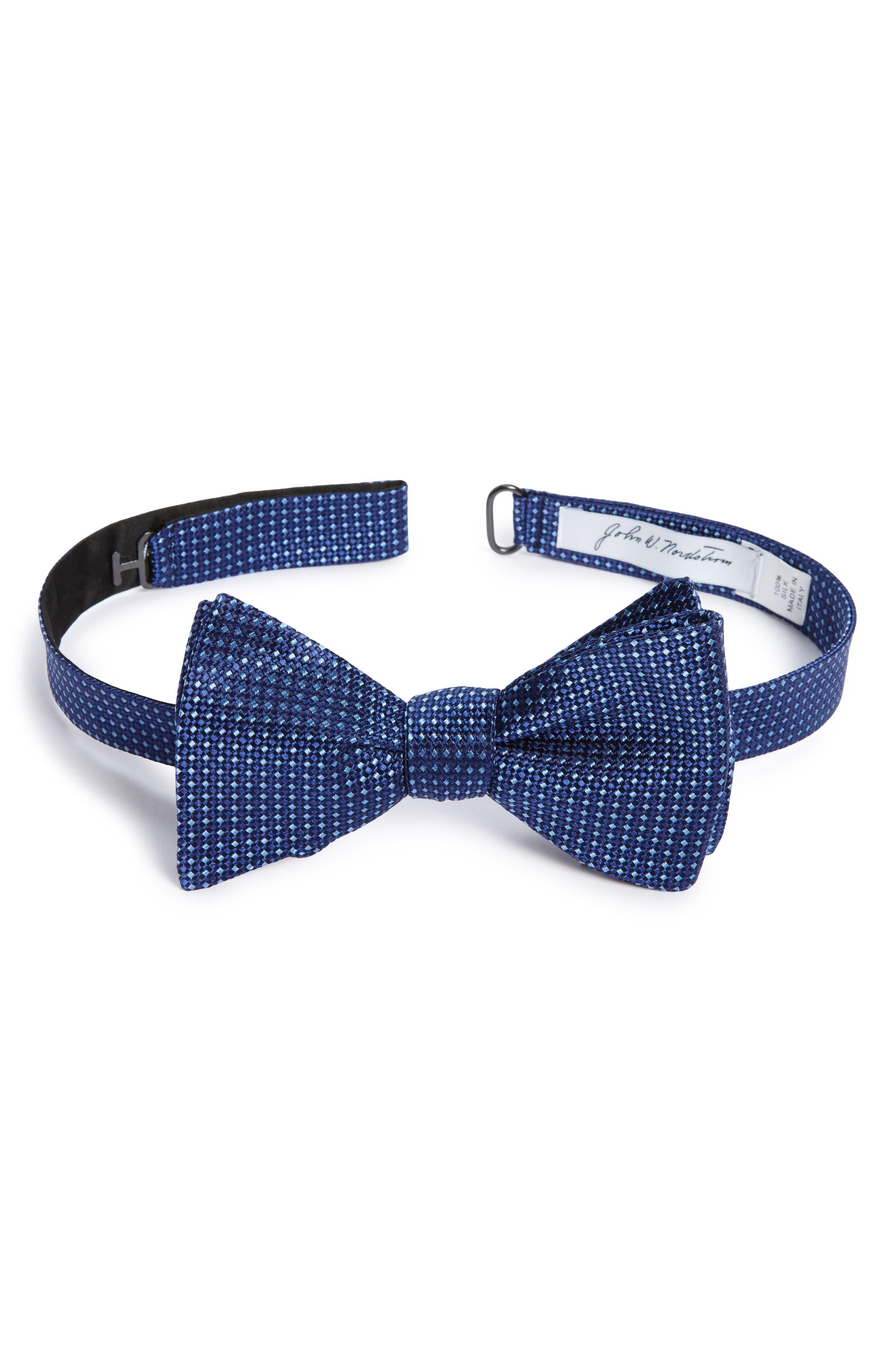 JOHN W. NORDSTROM® Vernon Mini Silk Bow Tie