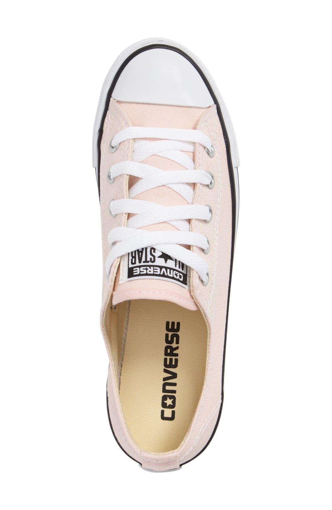 Alternate Image 3  - Converse Chuck Taylor® All Star® 'Dainty' Low Top Sneaker (Women)