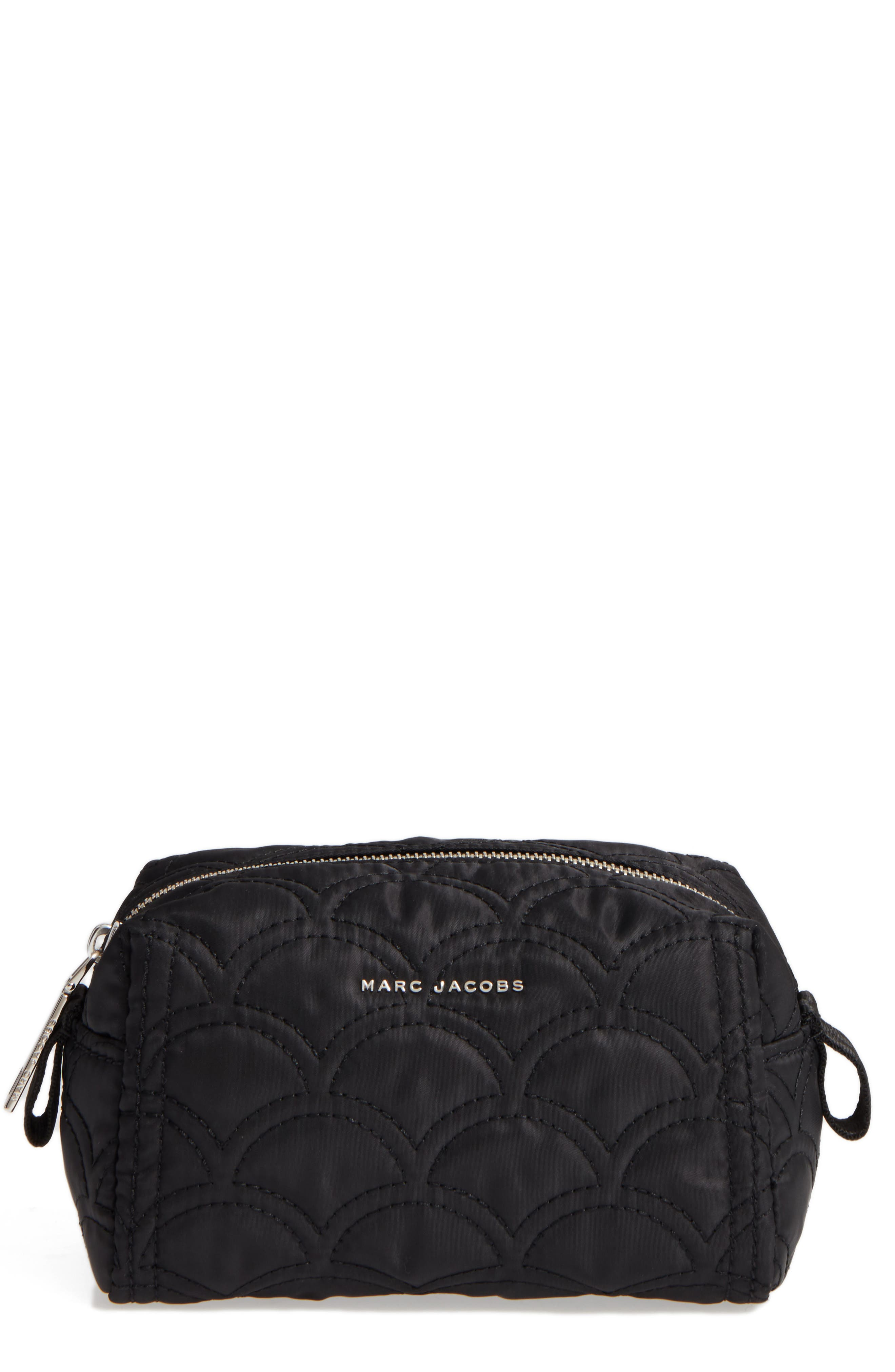 MARC JACOBS Large Quilted Cosmetics Bag