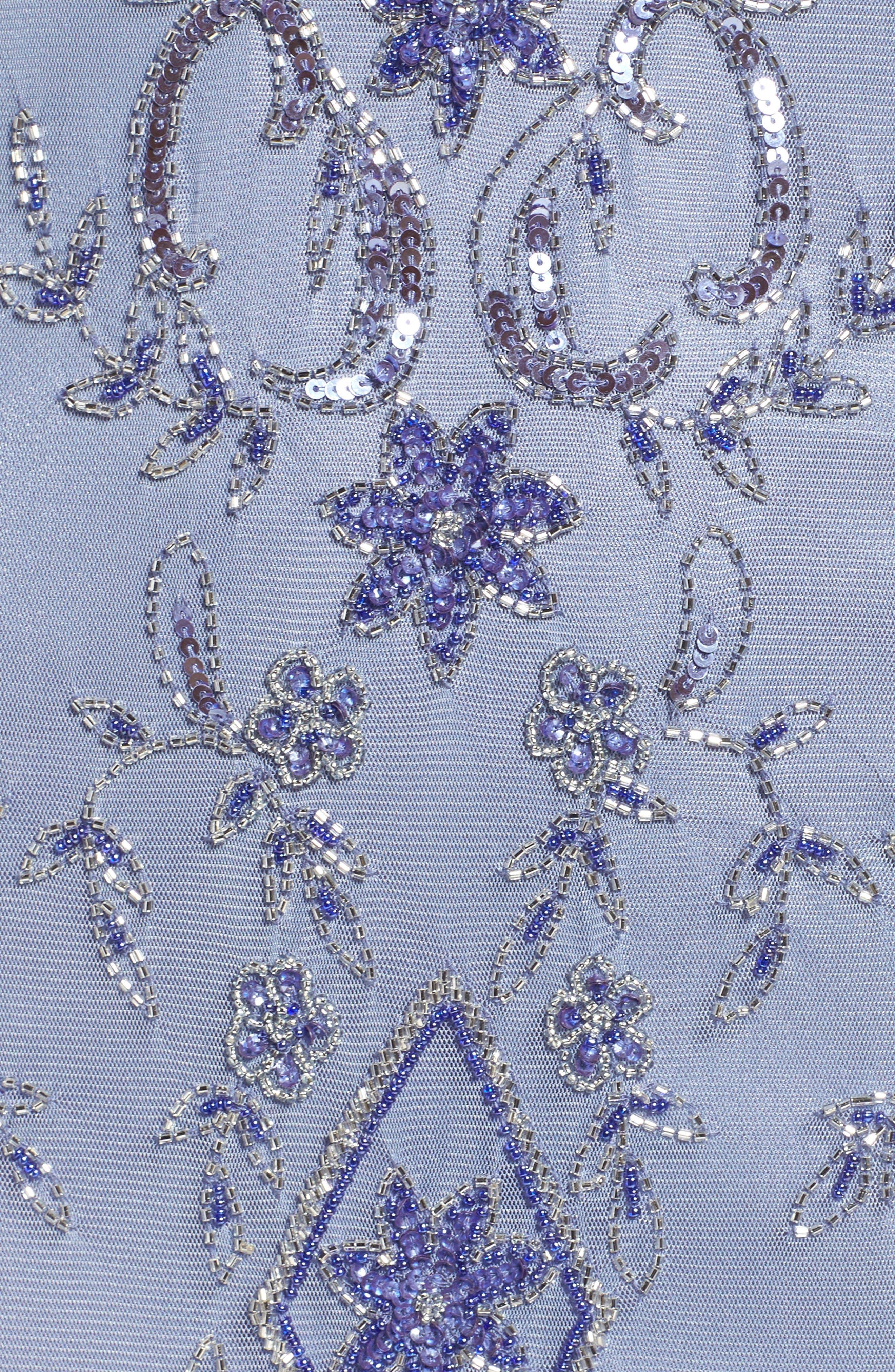 Alternate Image 5  - Pisarro Nights Embellished Mesh Dress