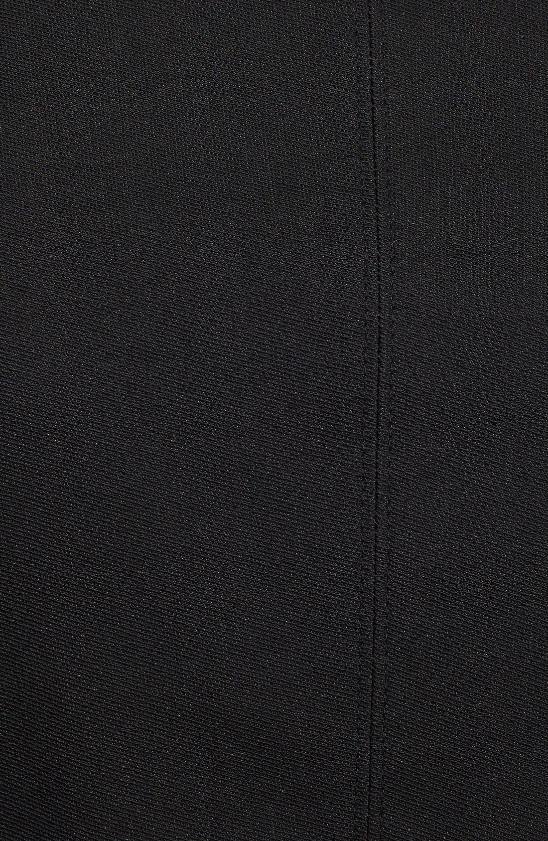 Alternate Image 3  - Burberry Brit 'Wicksby' Leather Lapel Jacket