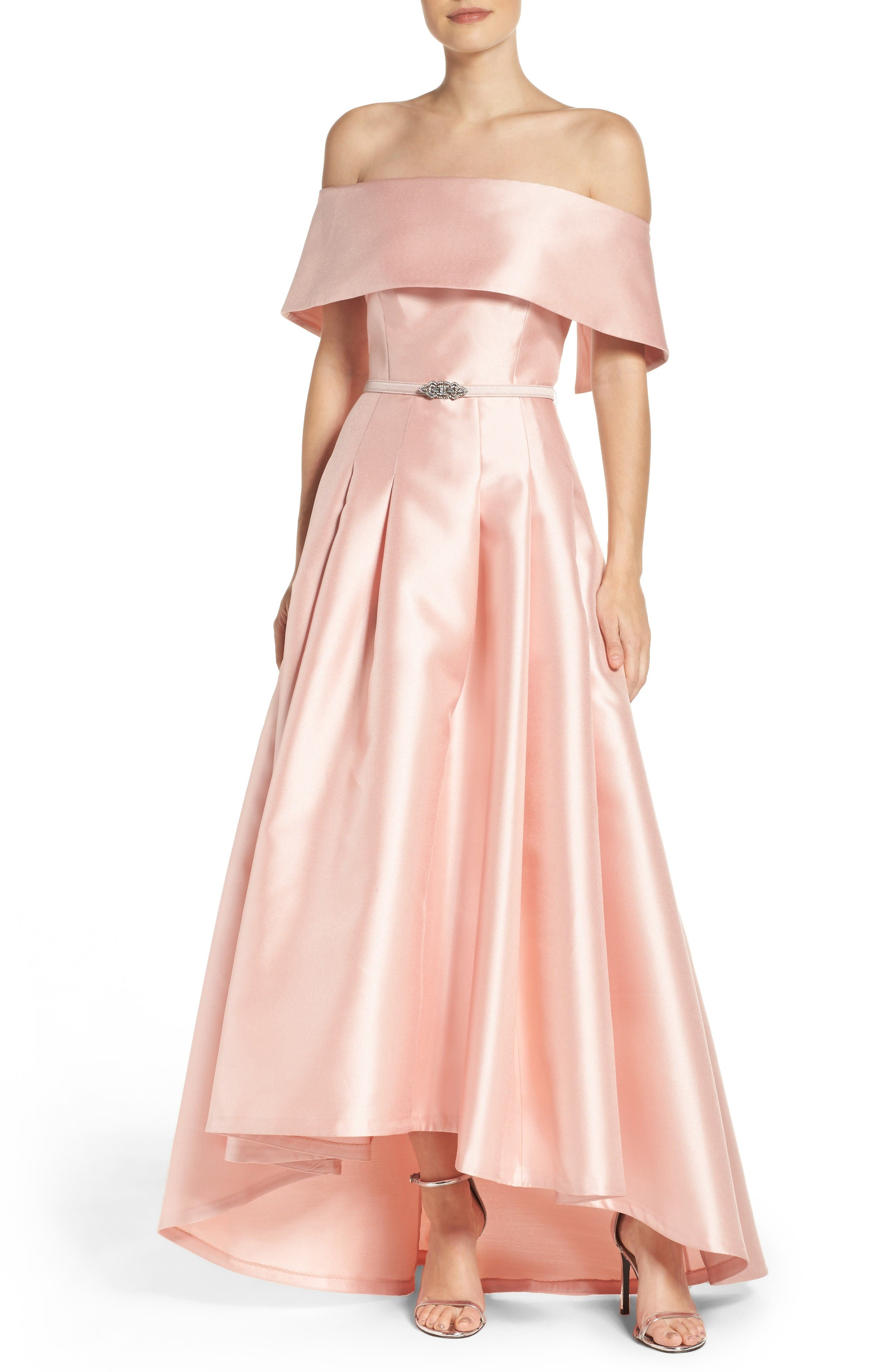 Alternate Image 1 Selected - Vince Camuto Mikado Ballgown