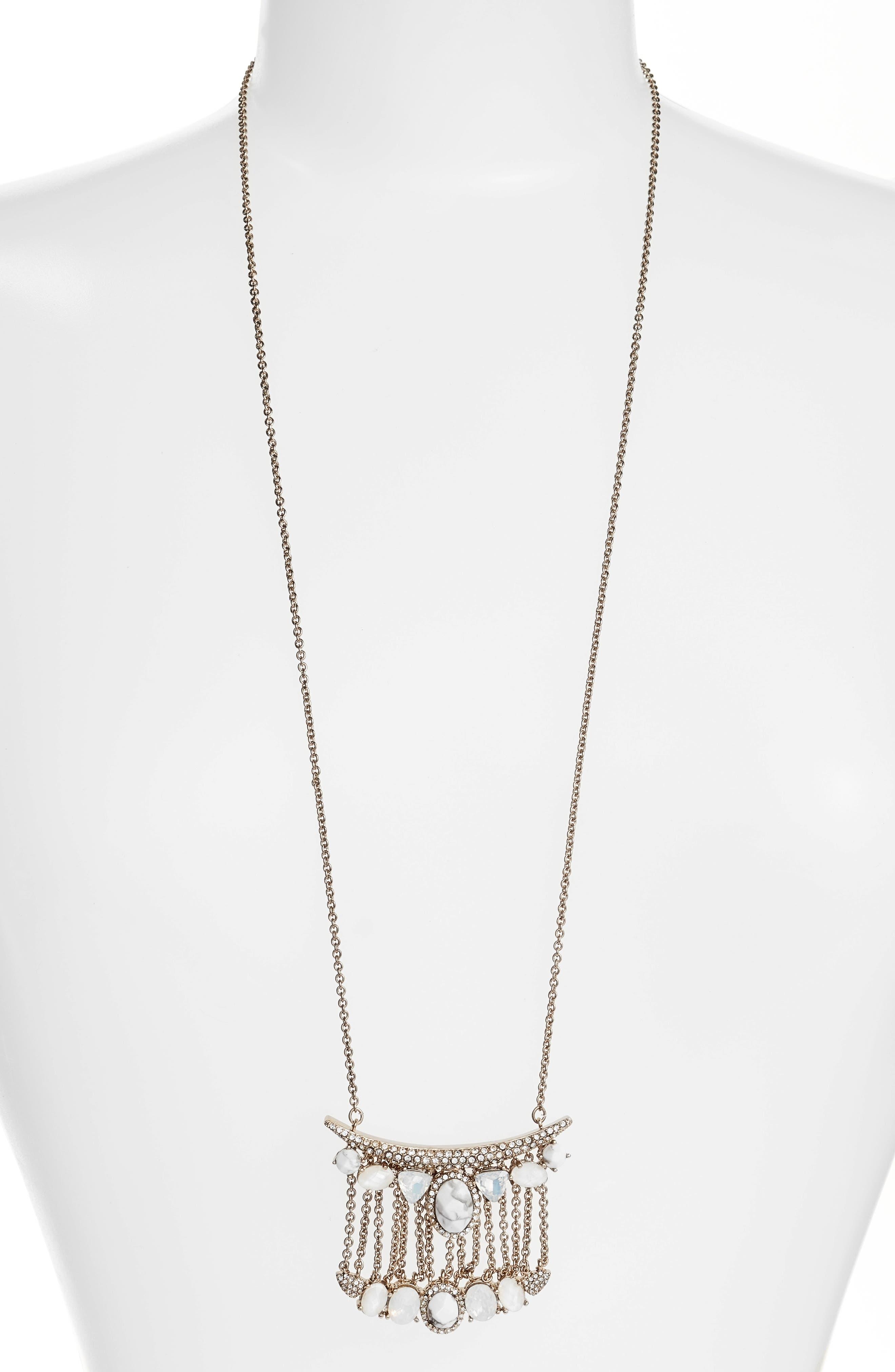 Jenny Packham Wanderlust Pendant Necklace