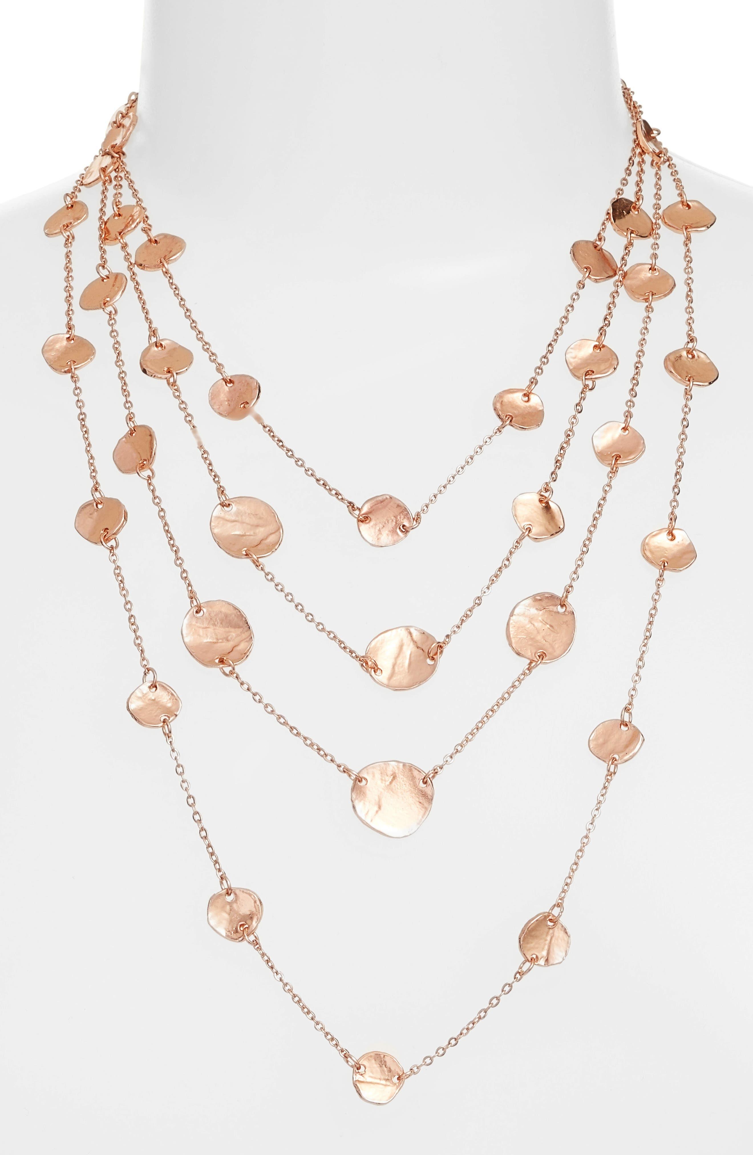 Alternate Image 2  - Karine Sultan Manon Layered Necklace