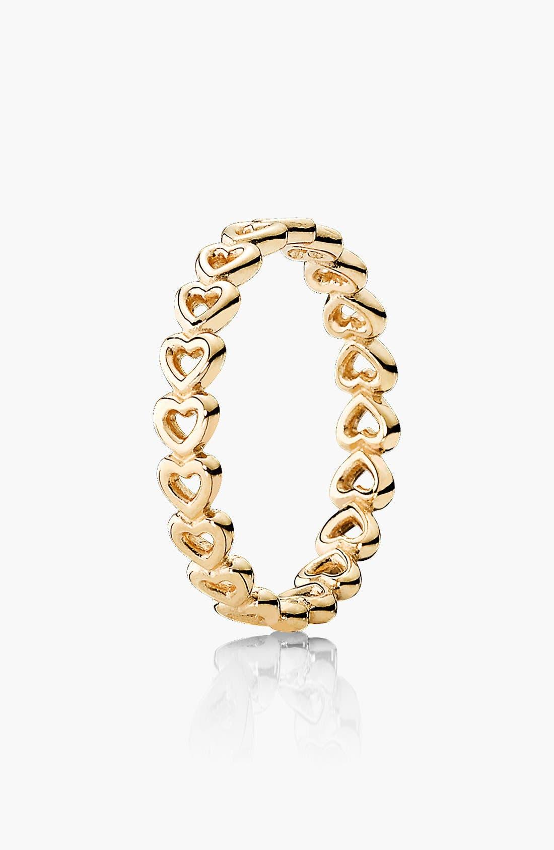 Main Image - PANDORA 'Linked Love' Ring