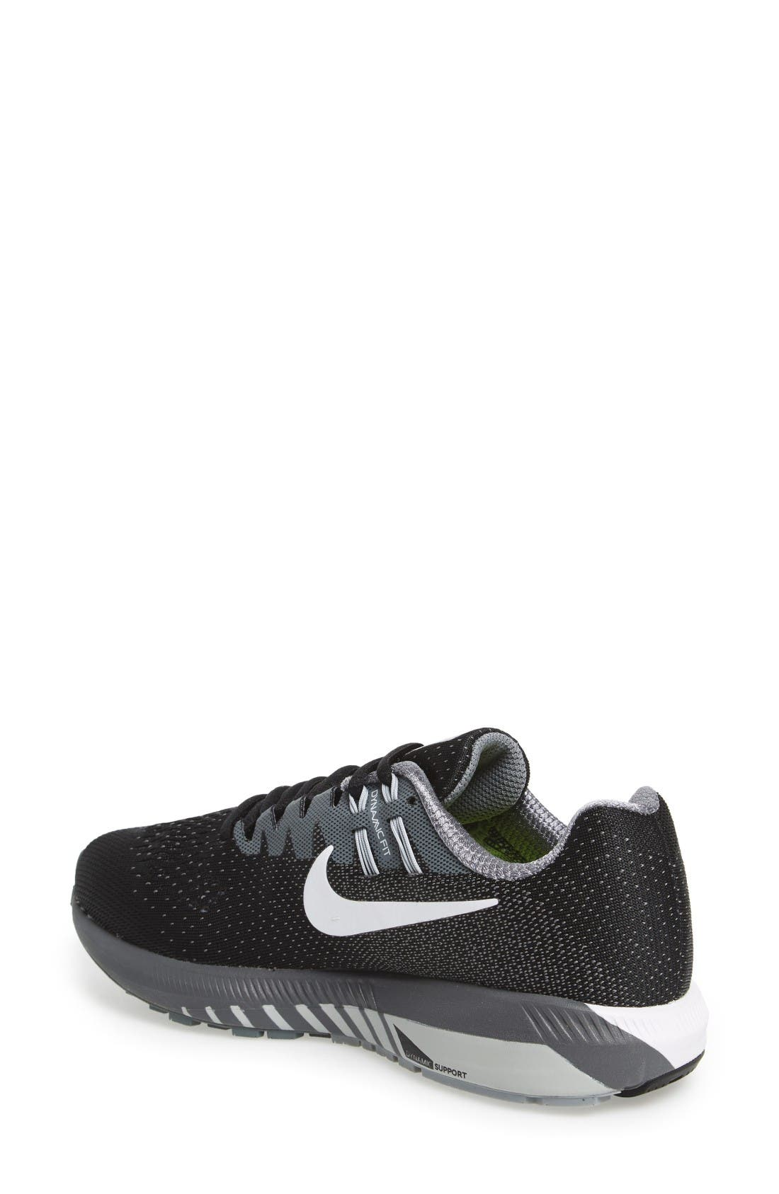 Alternate Image 2  - Nike Air Zoom Structure 20 Running Shoe (Women)