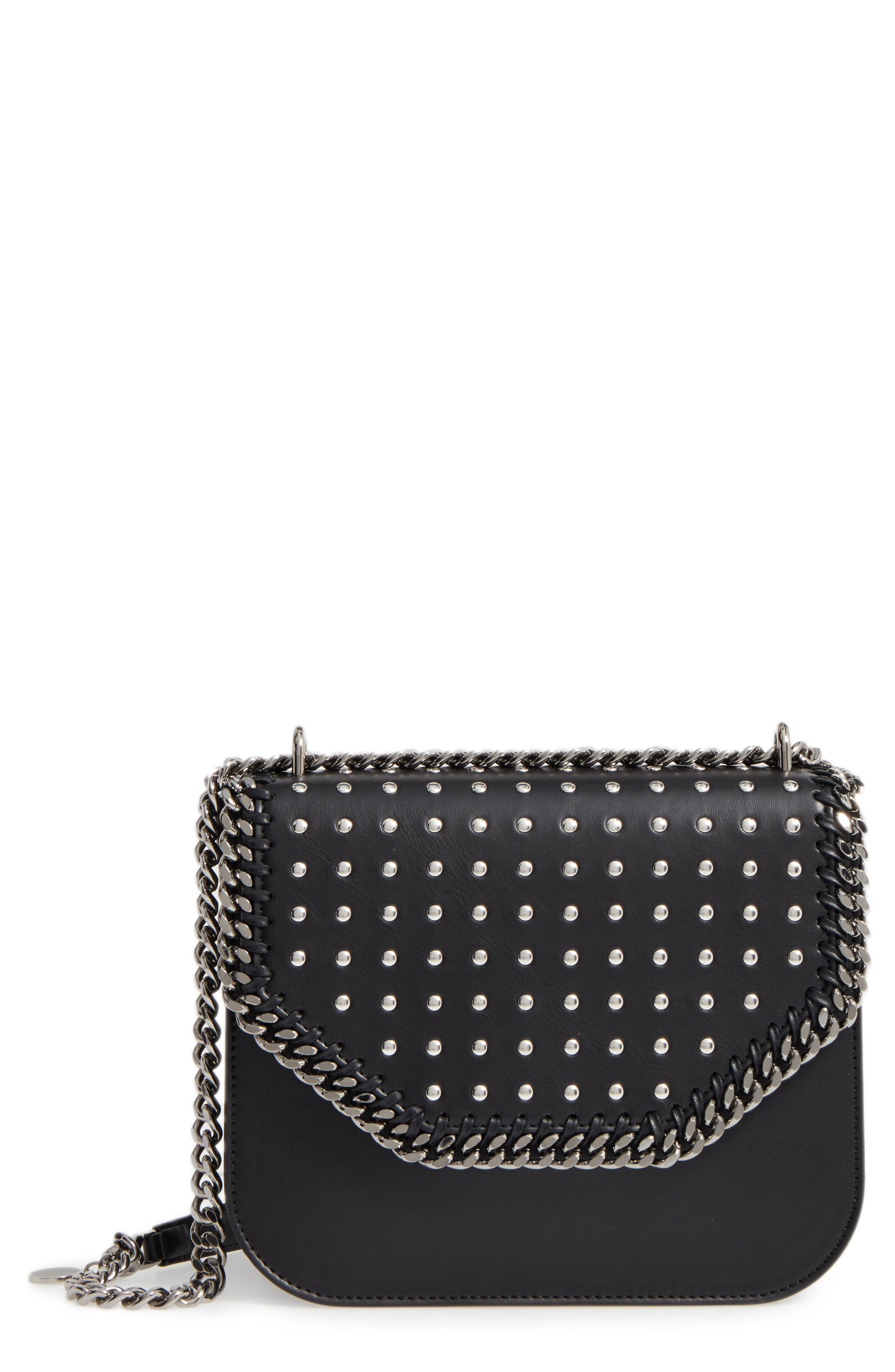 STELLA MCCARTNEY Fallabella Box Faux Leather Crossbody Bag
