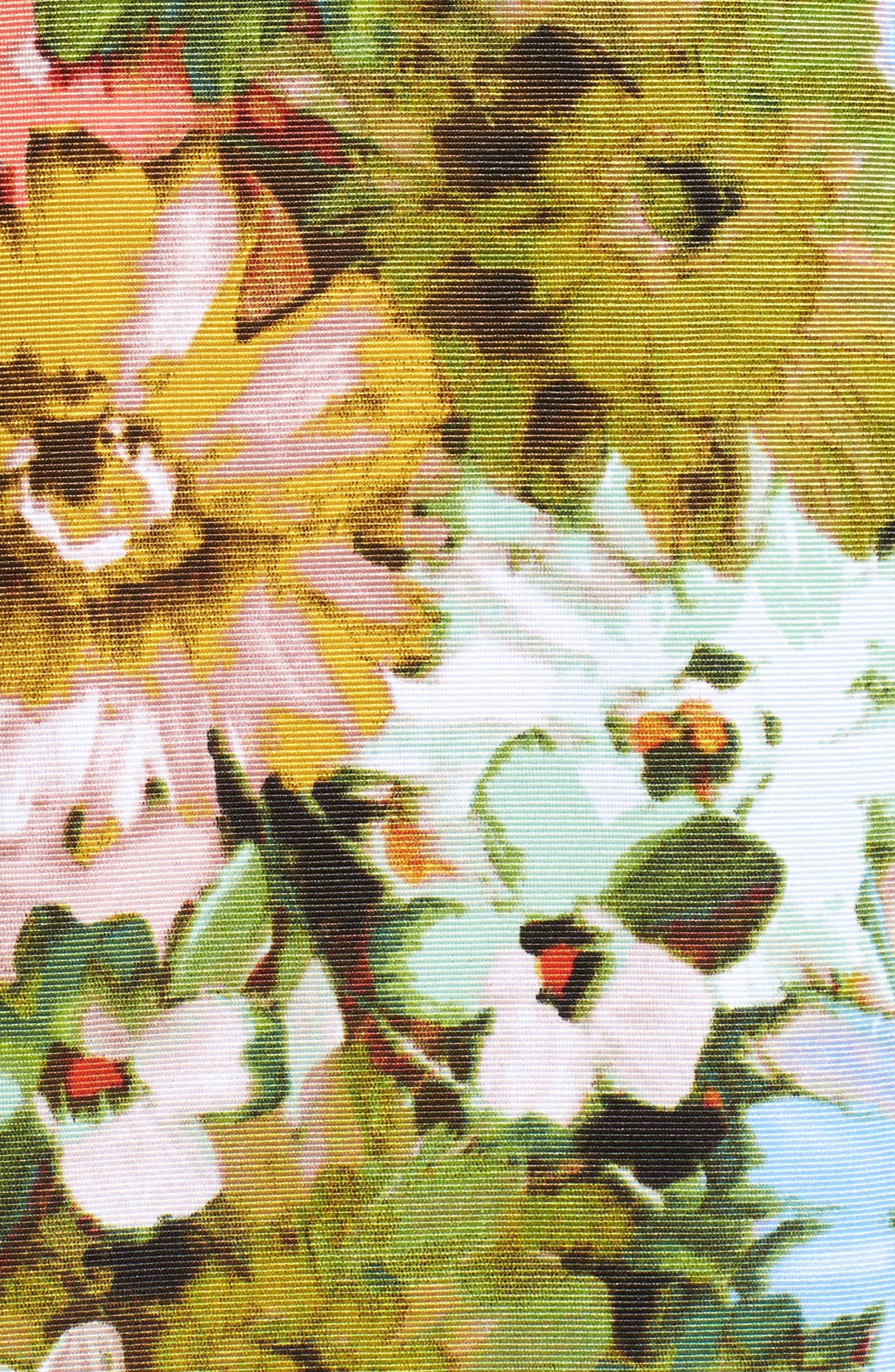 Alternate Image 6  - Taylor Dresses Vintage Floral Fit & Flare Dress