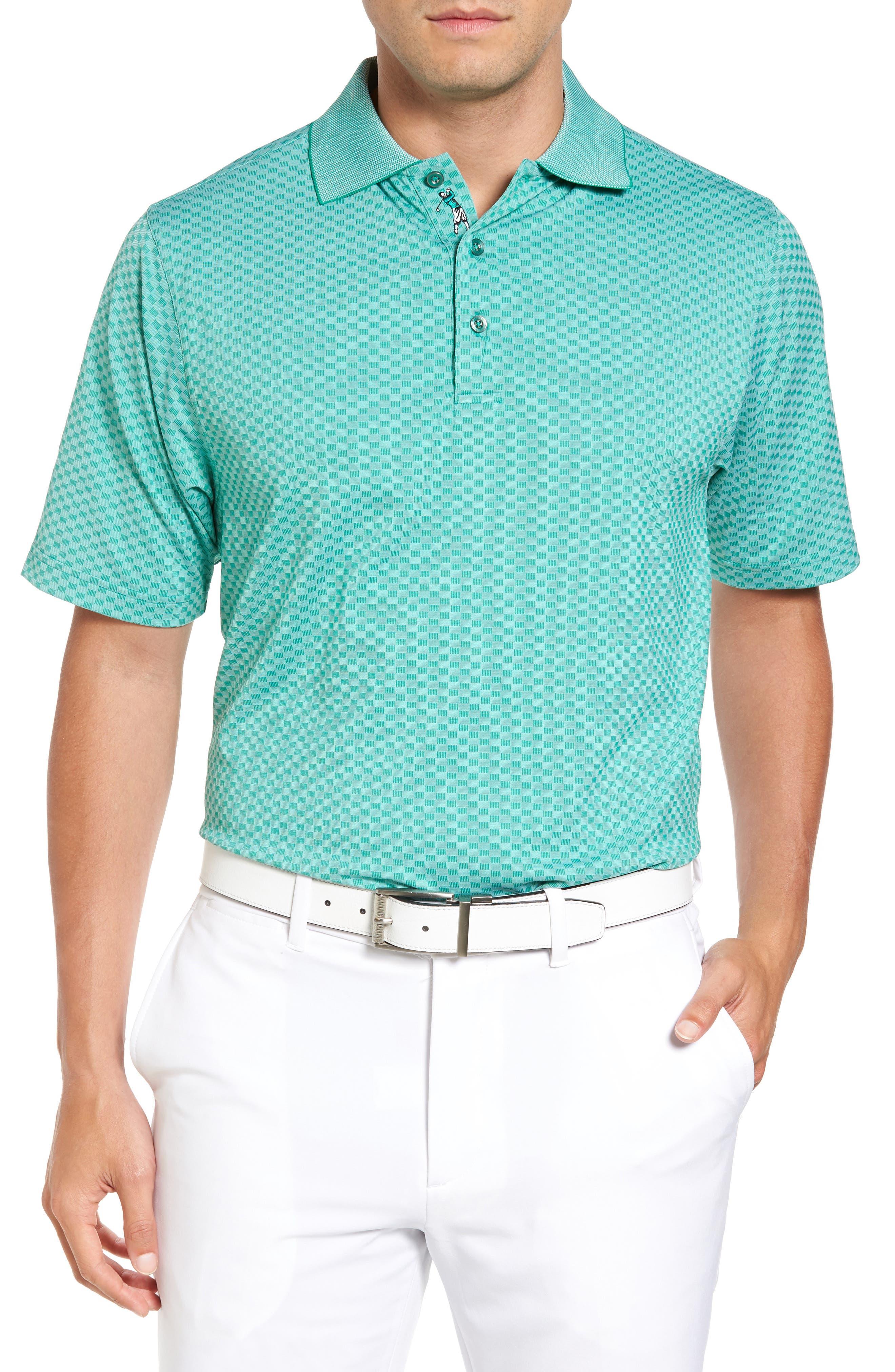 Bobby Jones XH20 Rye Check Stretch Golf Polo
