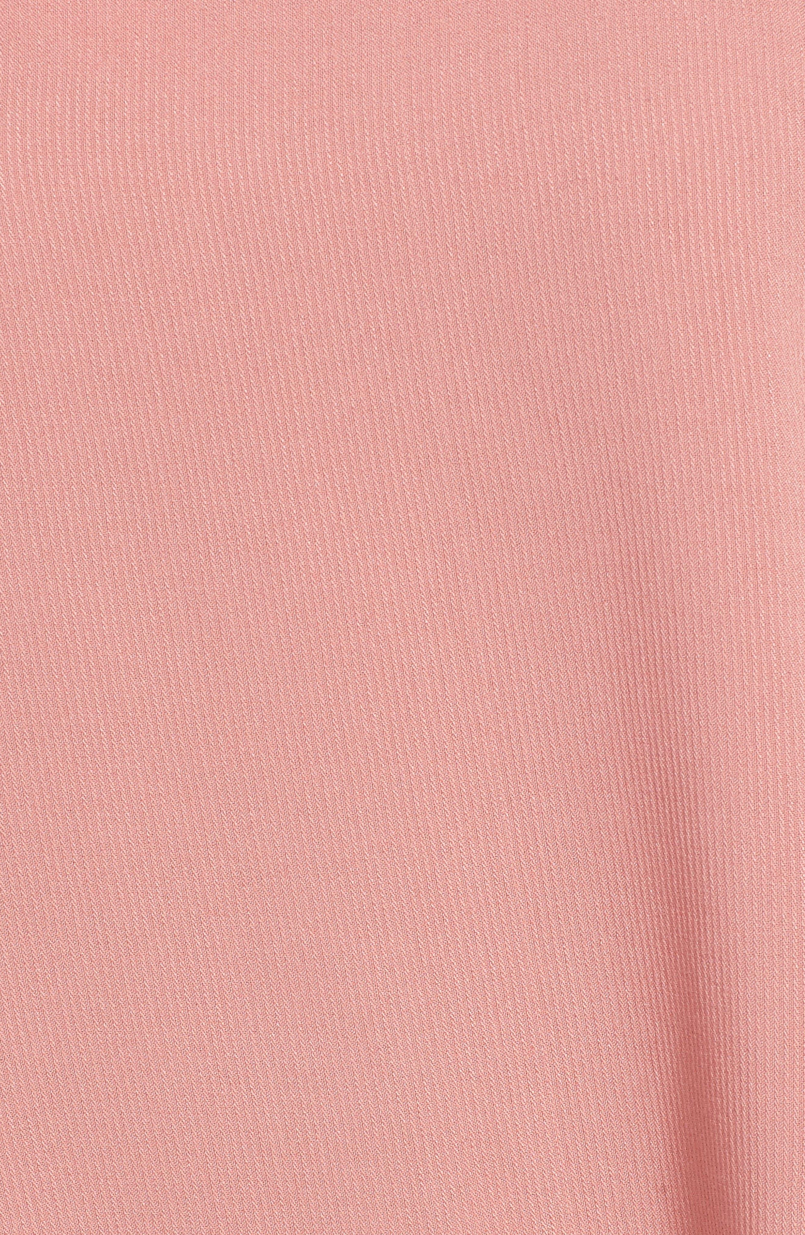 Alternate Image 5  - Trouvé Tie Sleeve One-Shoulder Top