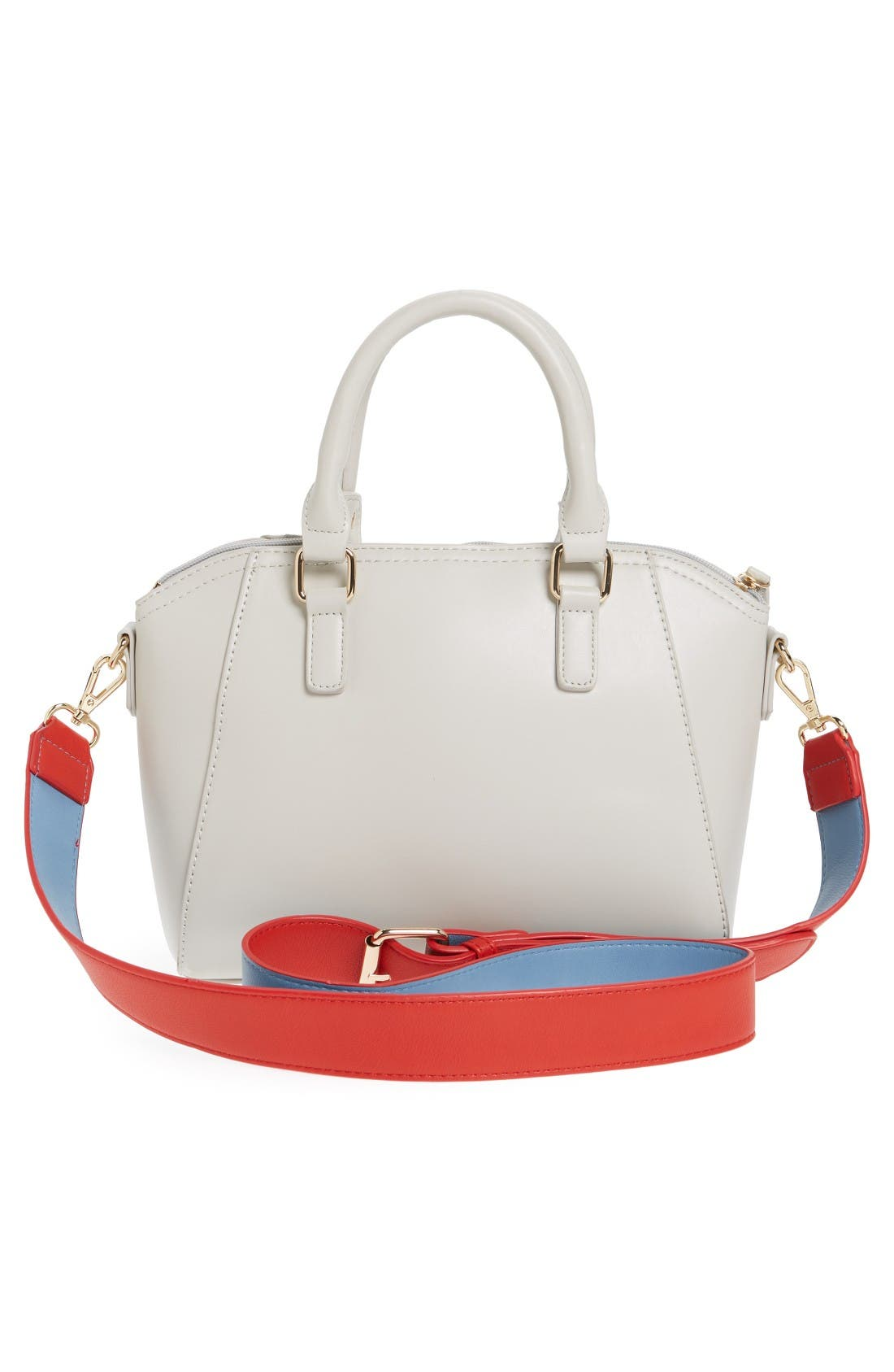 Alternate Image 2  - BP. Pop Strap Faux Leather Satchel
