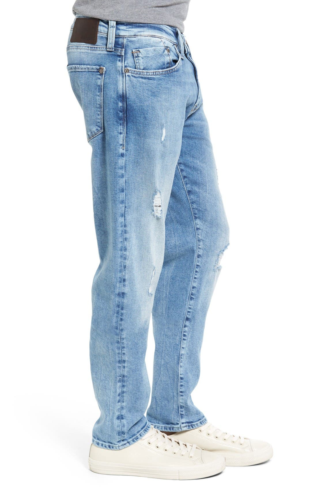 Alternate Image 3  - Mavi Jeans Jake Easy Slim Fit Jeans (Ripped)