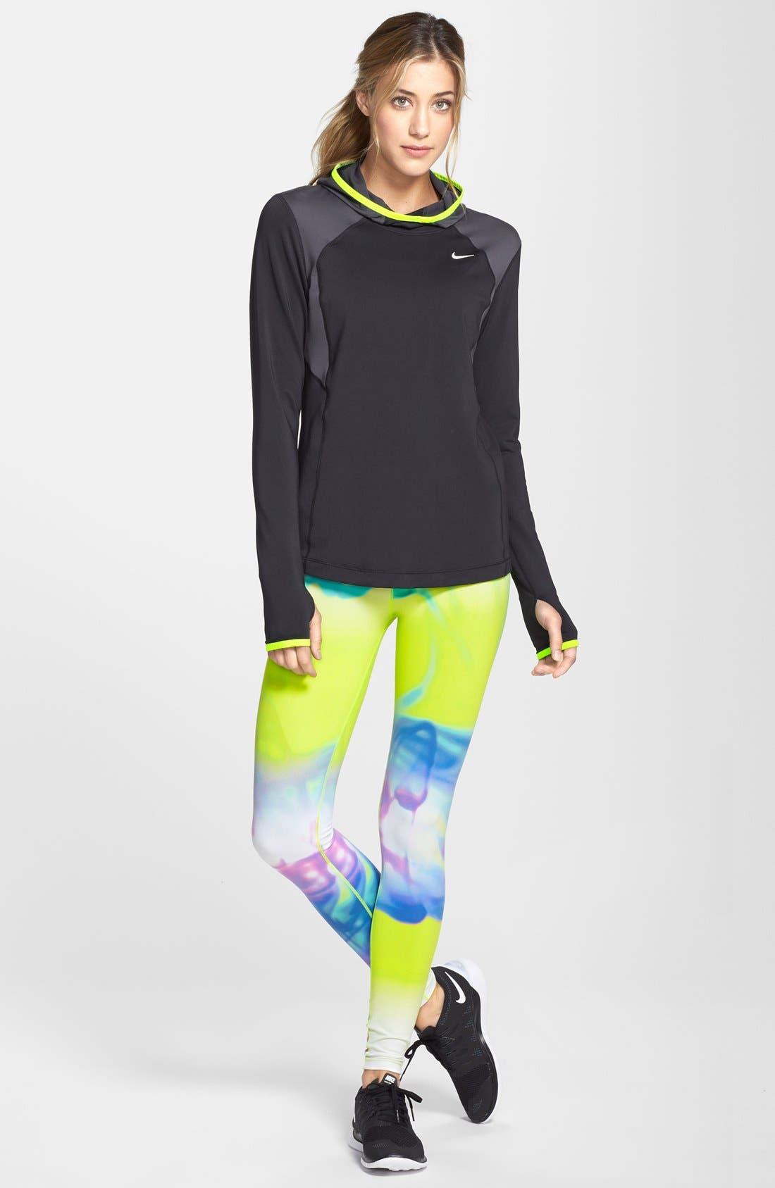 Alternate Image 3  - Nike 'Legendary - Lava' Dri-FIT Tights