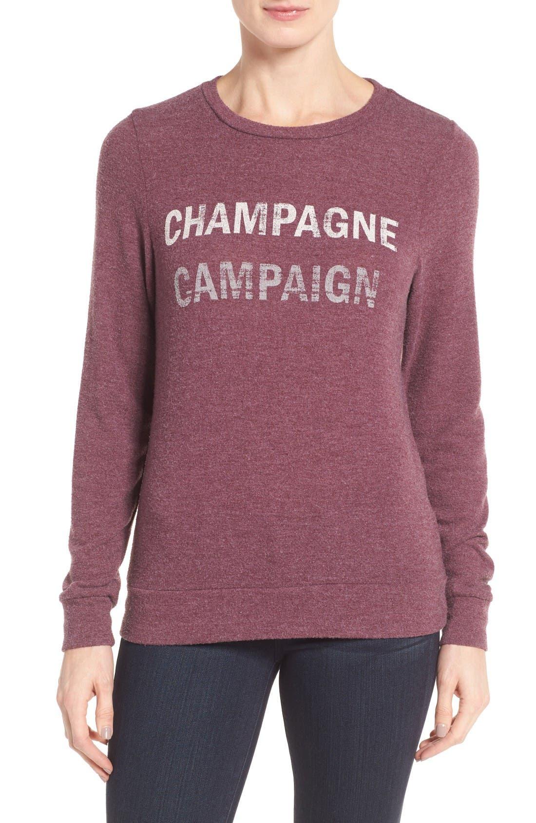 Alternate Image 1 Selected - Signorelli Graphic Sweatshirt