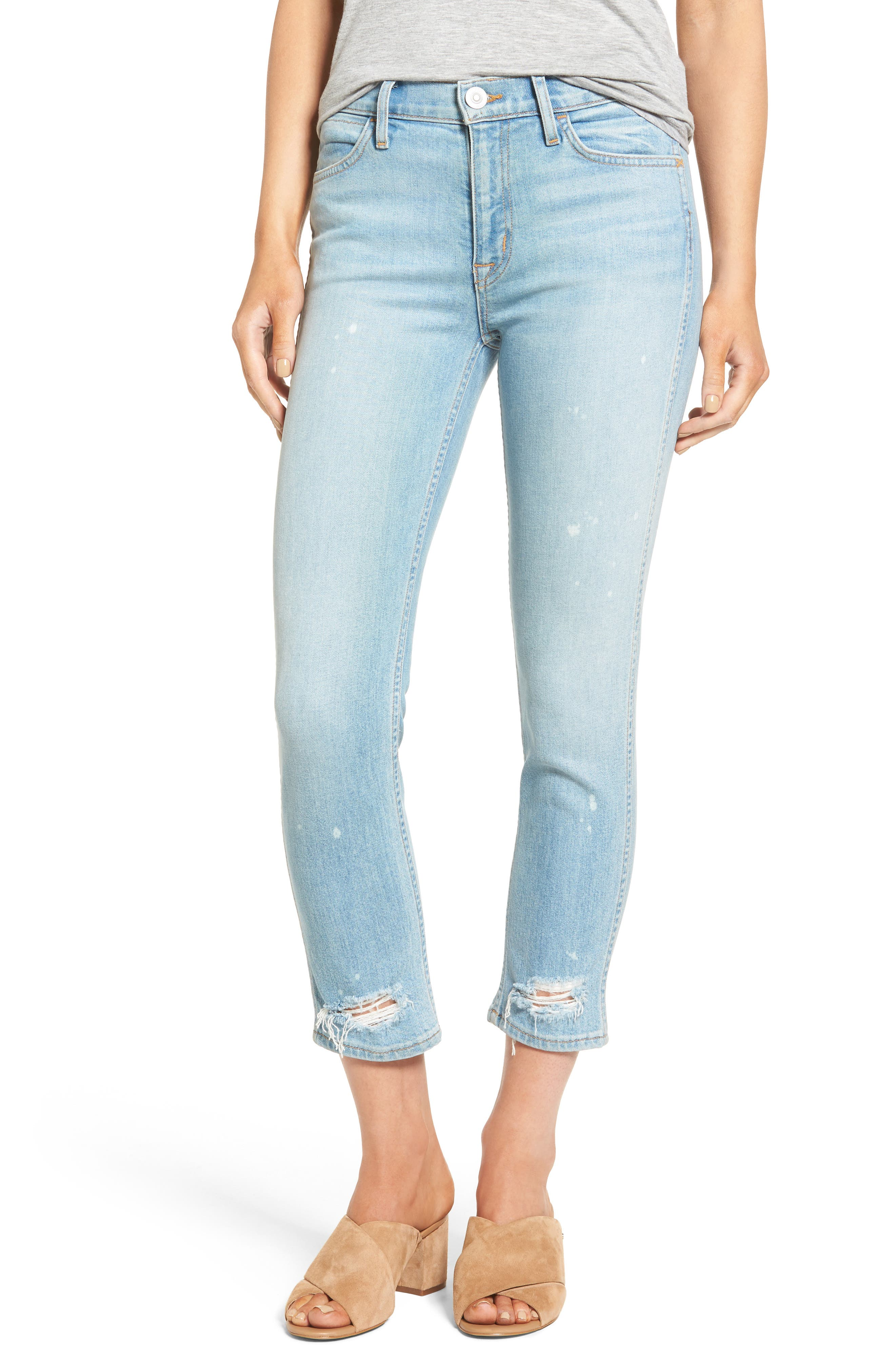 HUDSON JEANS Savy Crop Skinny Jeans
