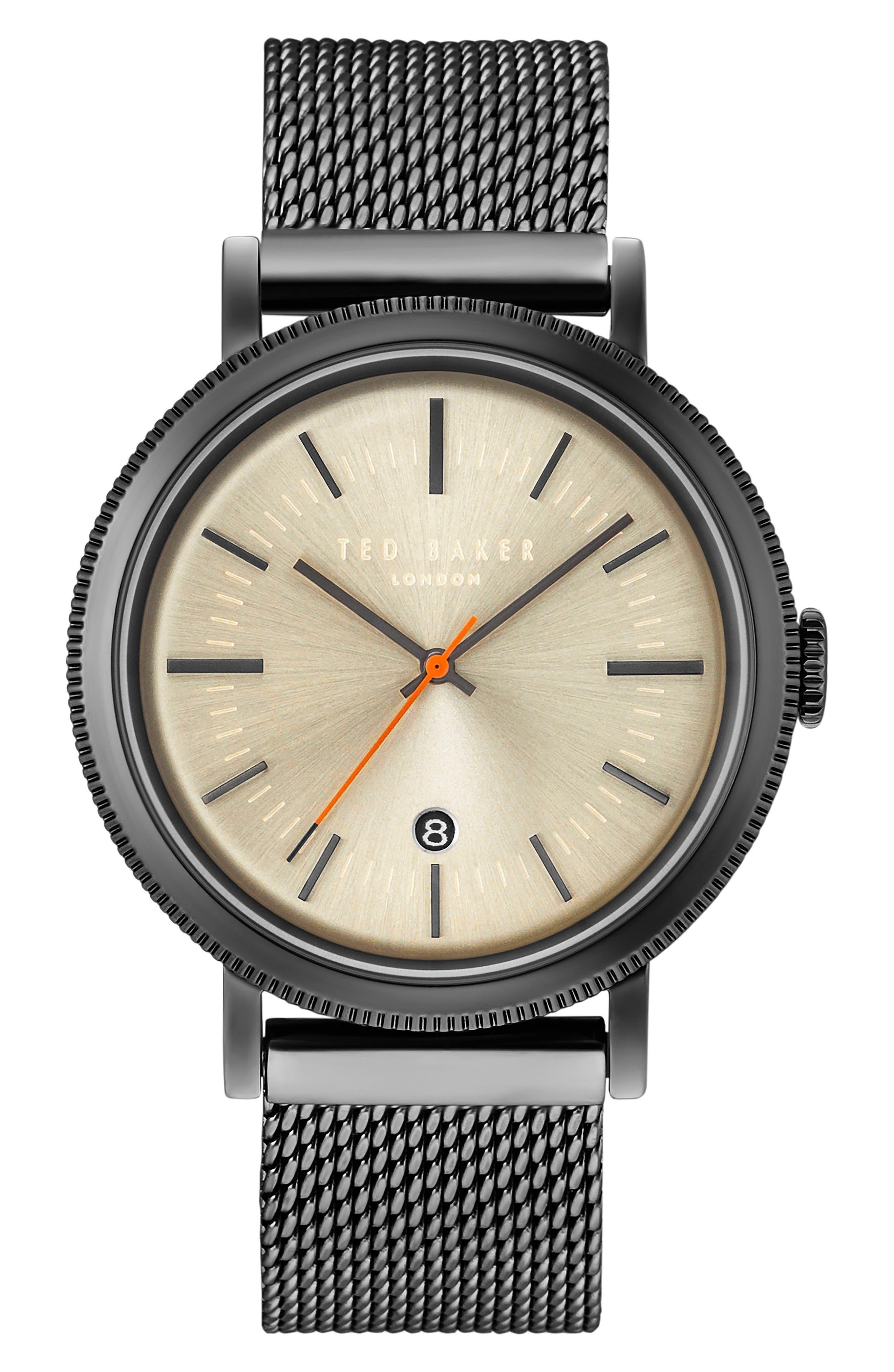 Ted Baker London Connor Bracelet Watch, 42mm