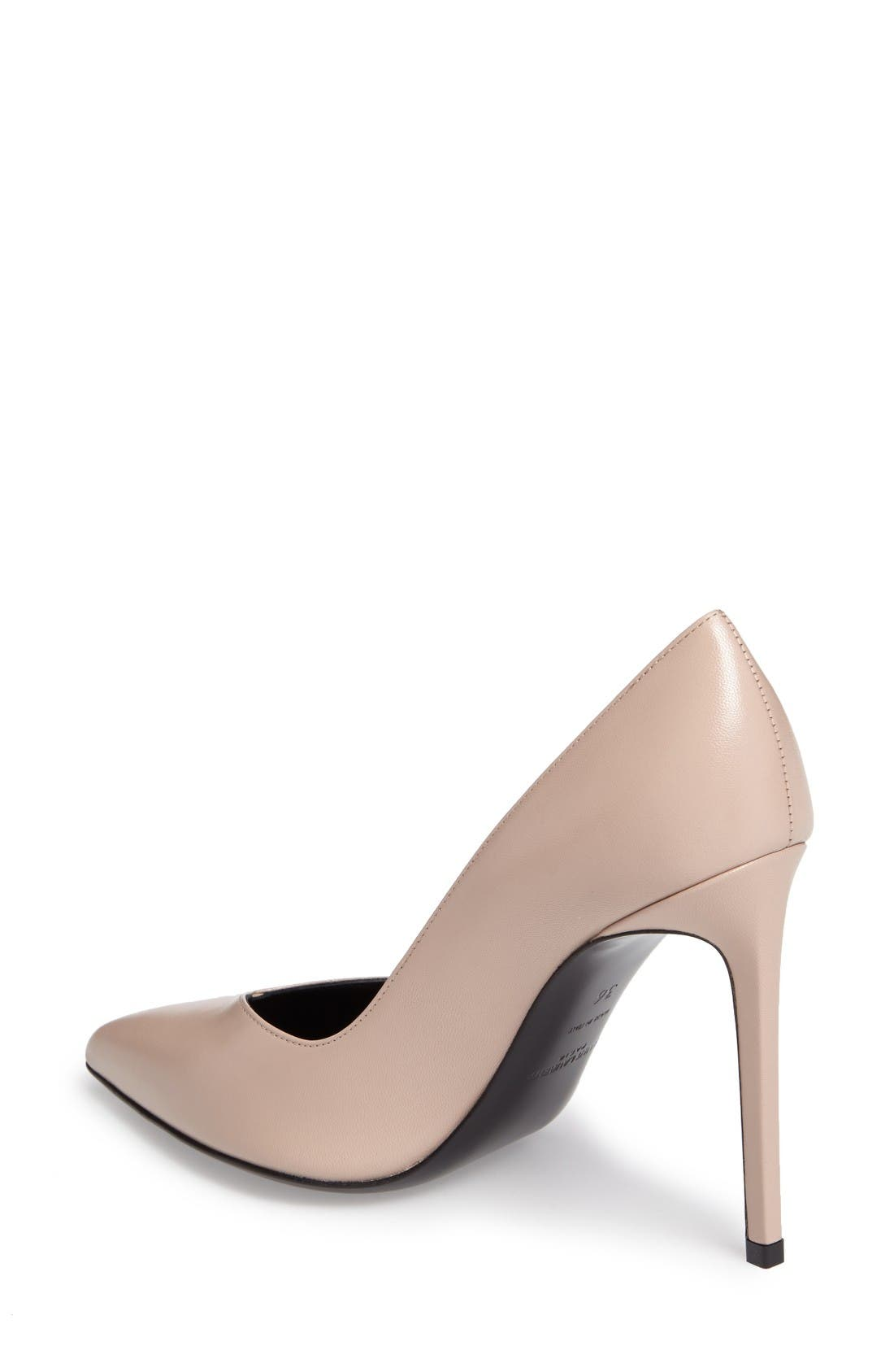 Alternate Image 2  - Saint Laurent Pointy Toe Pump (Women)