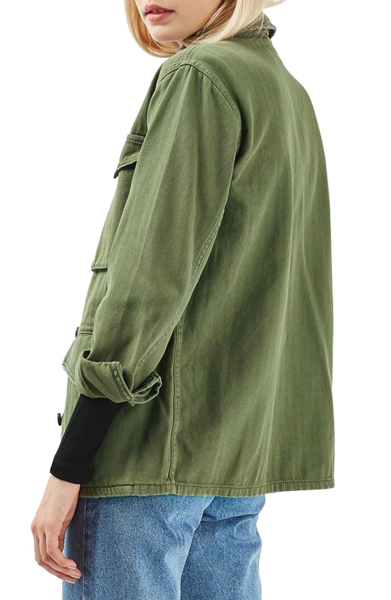 Alternate Image 3  - Topshop Ethan Shirt Jacket