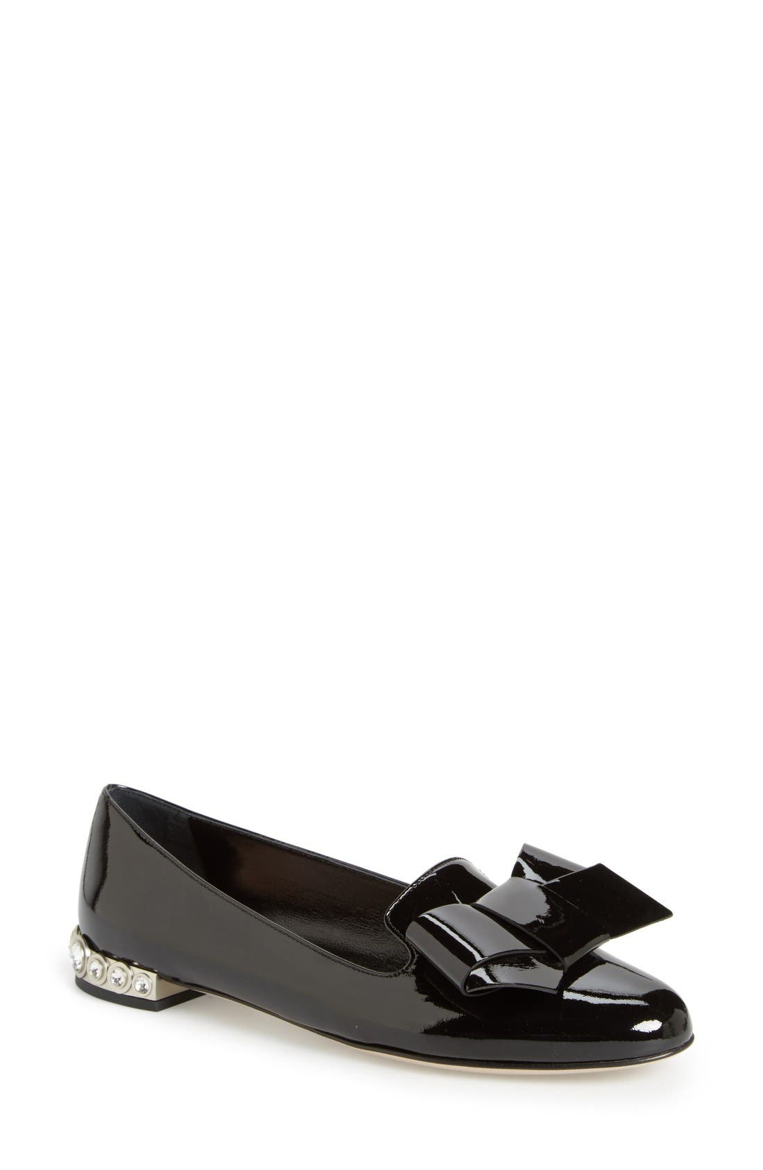 Miu Miu Bow Loafer (Women)