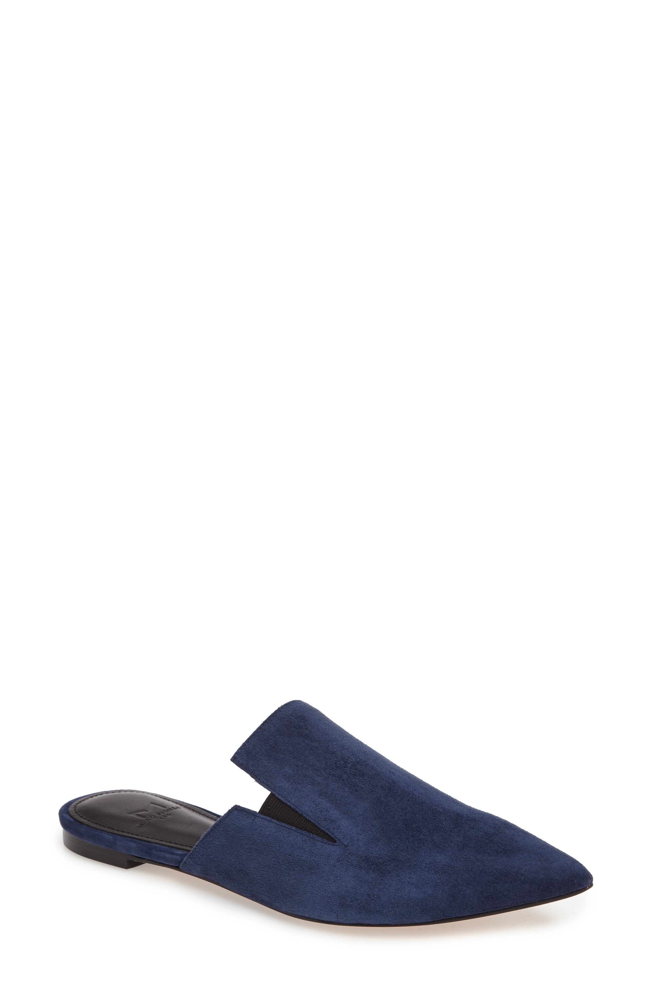 Alternate Image 1 Selected - Marc Fisher LTD Shiloh Flat Mule (Women)