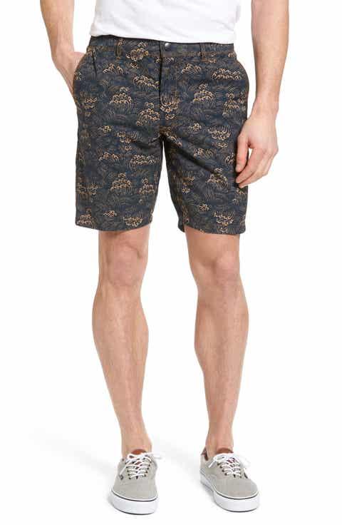 Jeremiah Big Surf Print Hybrid Shorts